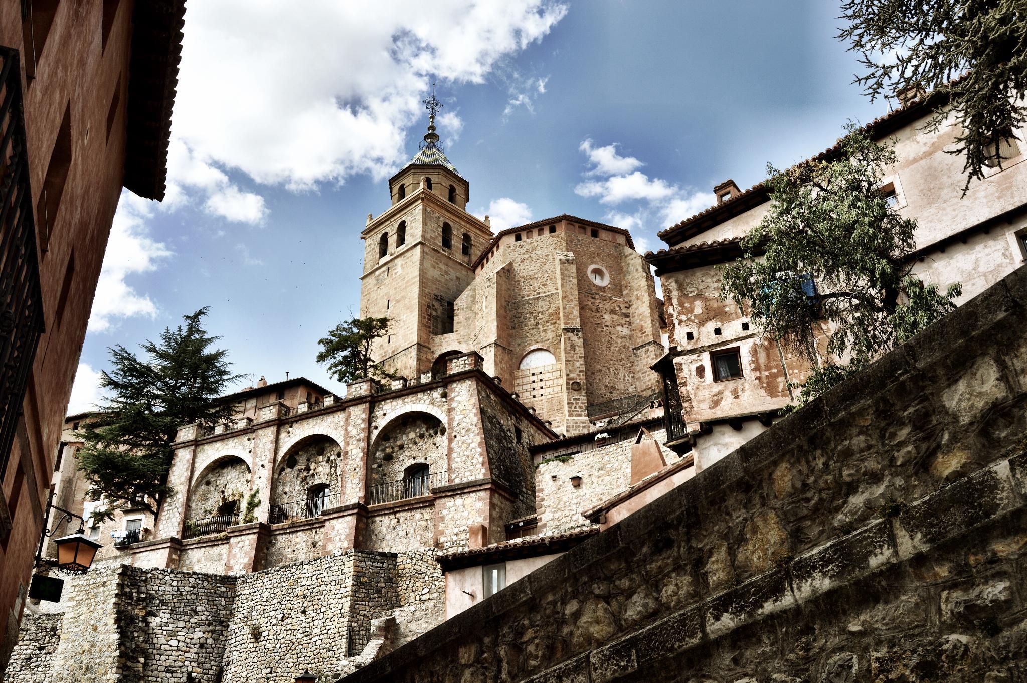 Vista de la Catedral de Albarracin (Albarracin - Spain) by Angel Alicarte Lopez