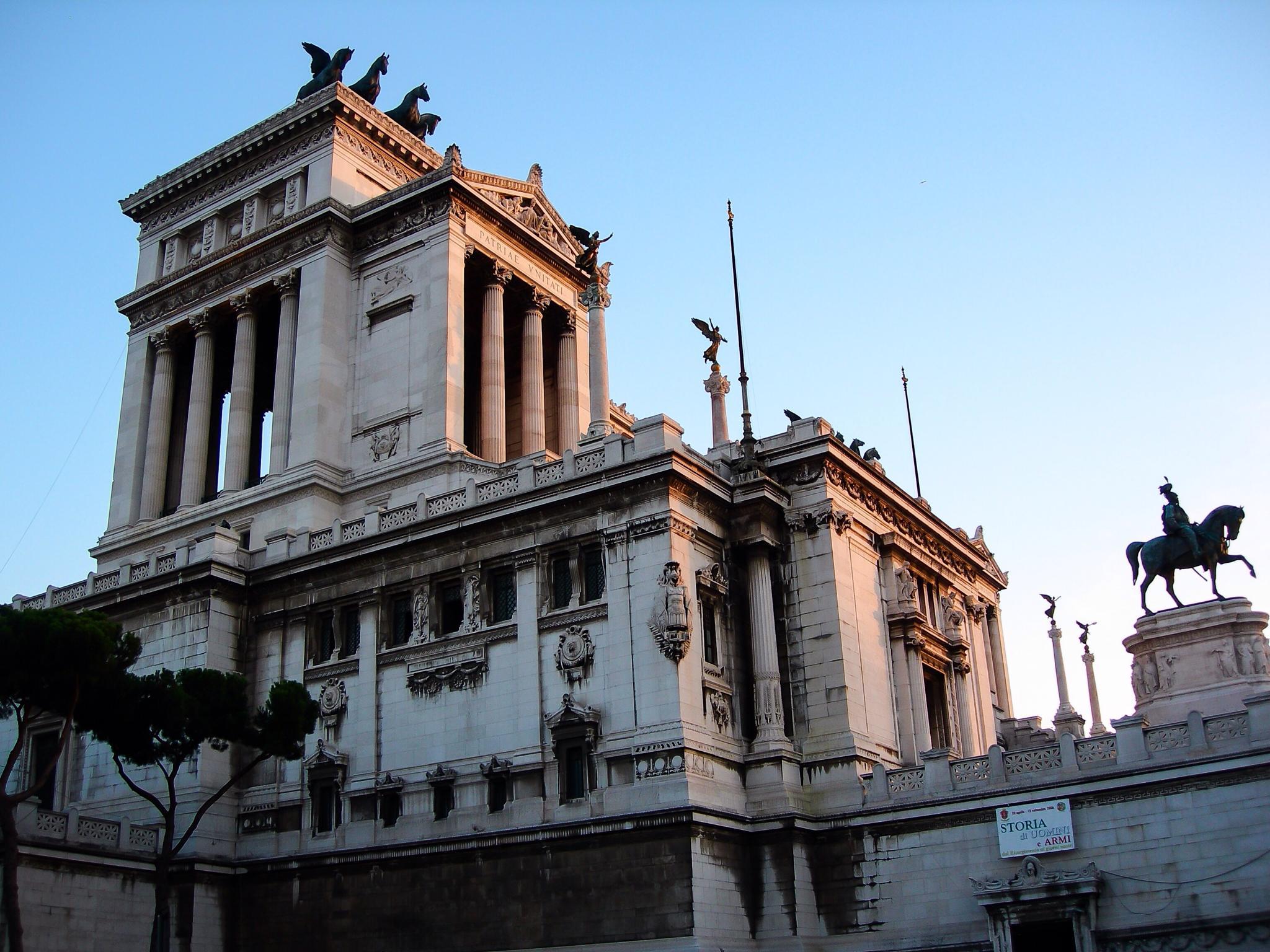 Monumento a Victor Manuel II, Altare della Patria (Roma - Italy) by Angel Alicarte Lopez