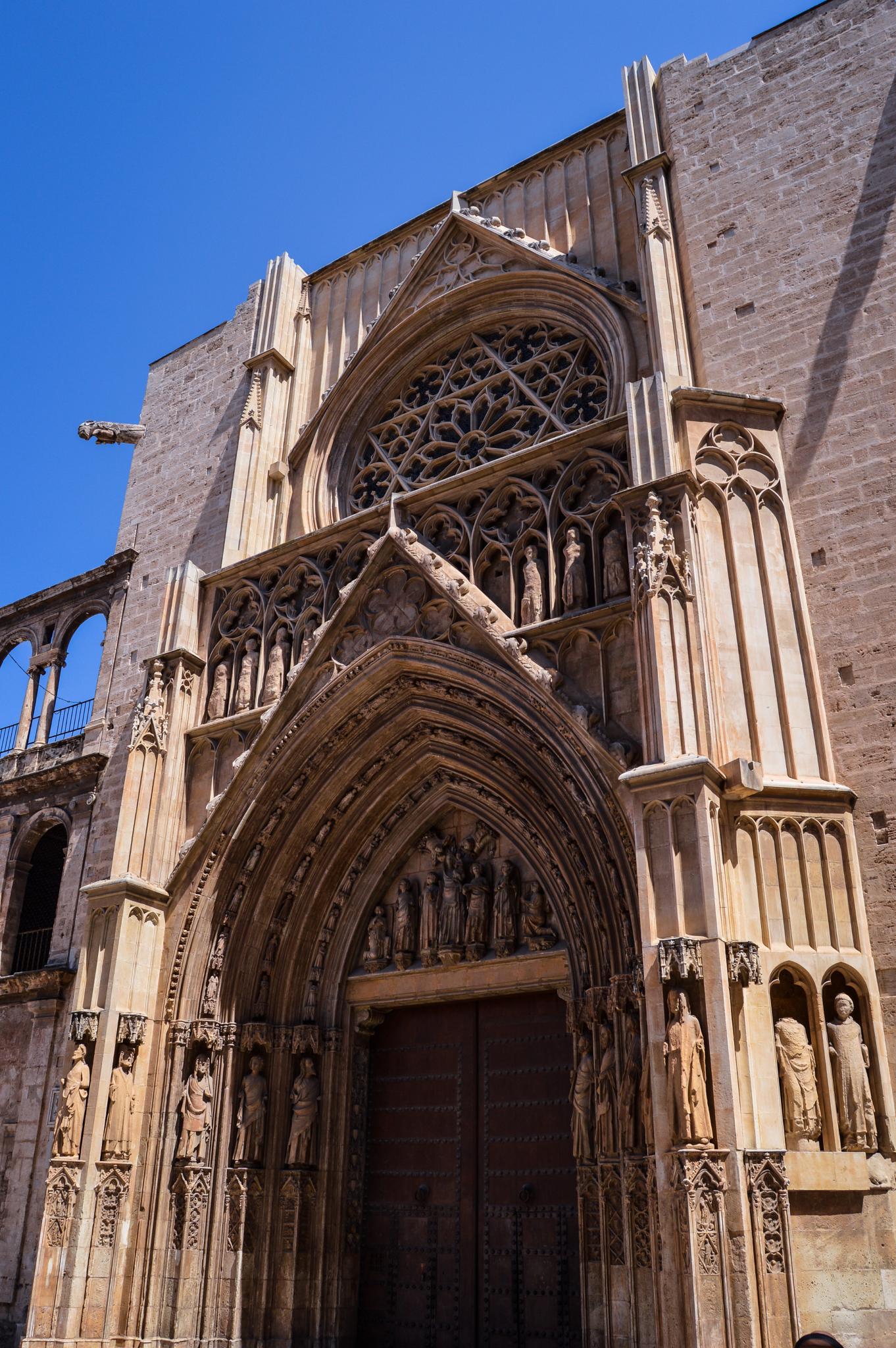 Puerta de los Apóstoles, Catedral de Valencia (Valencia - Spain) by Angel Alicarte Lopez