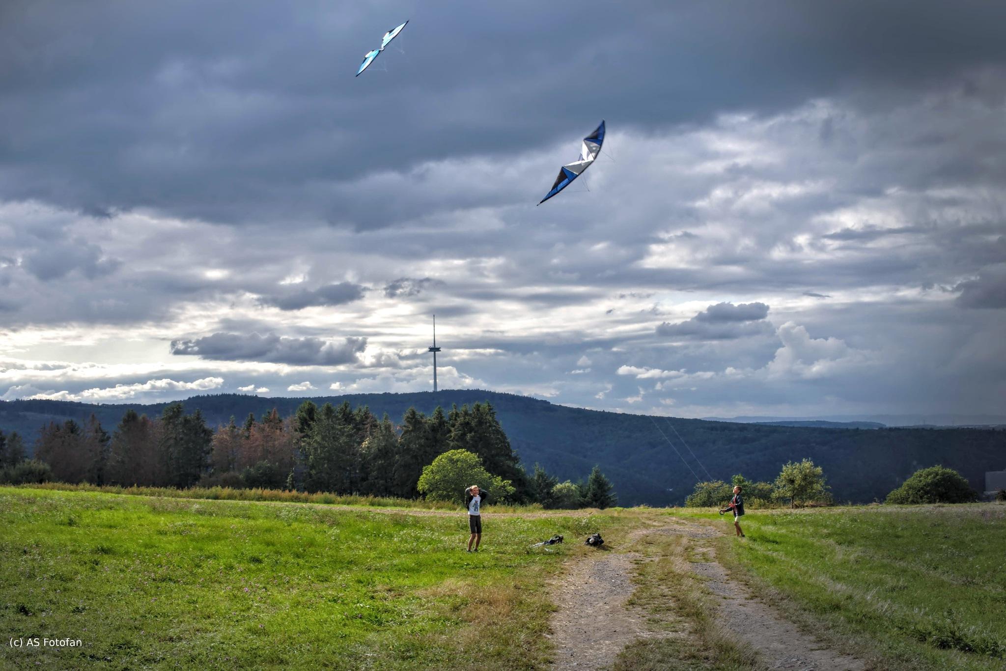 Spiel mit dem Wind by axelstein