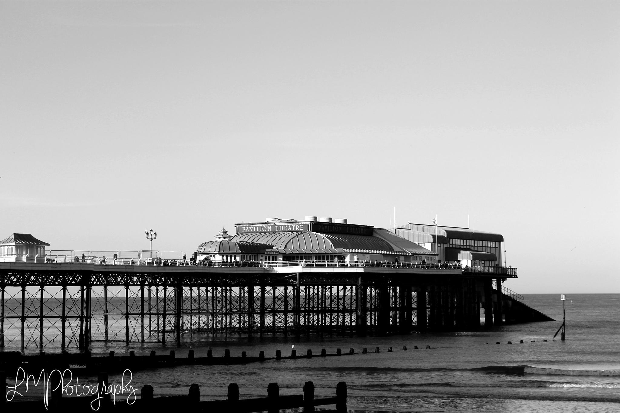 Cromer Pier by Louise Marie
