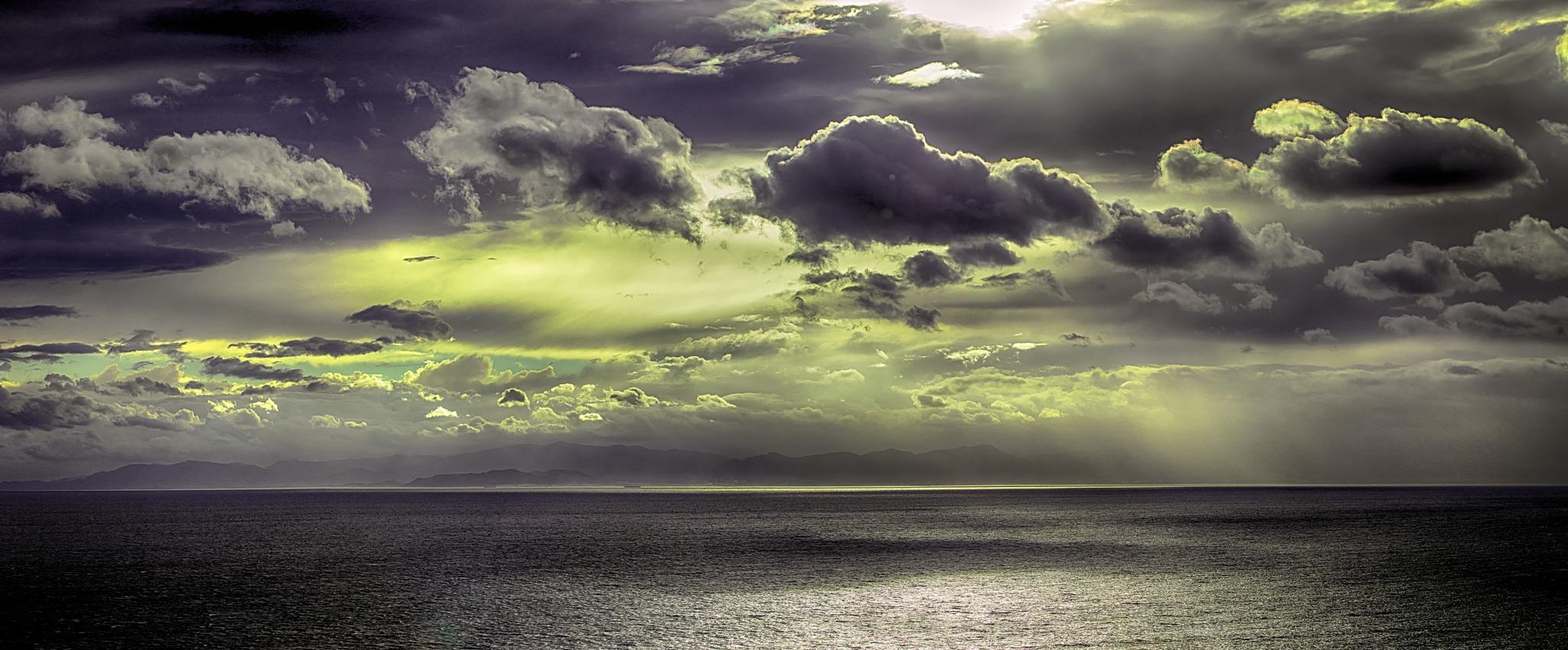 Sunset in south Sardinia by valentino.villa.5
