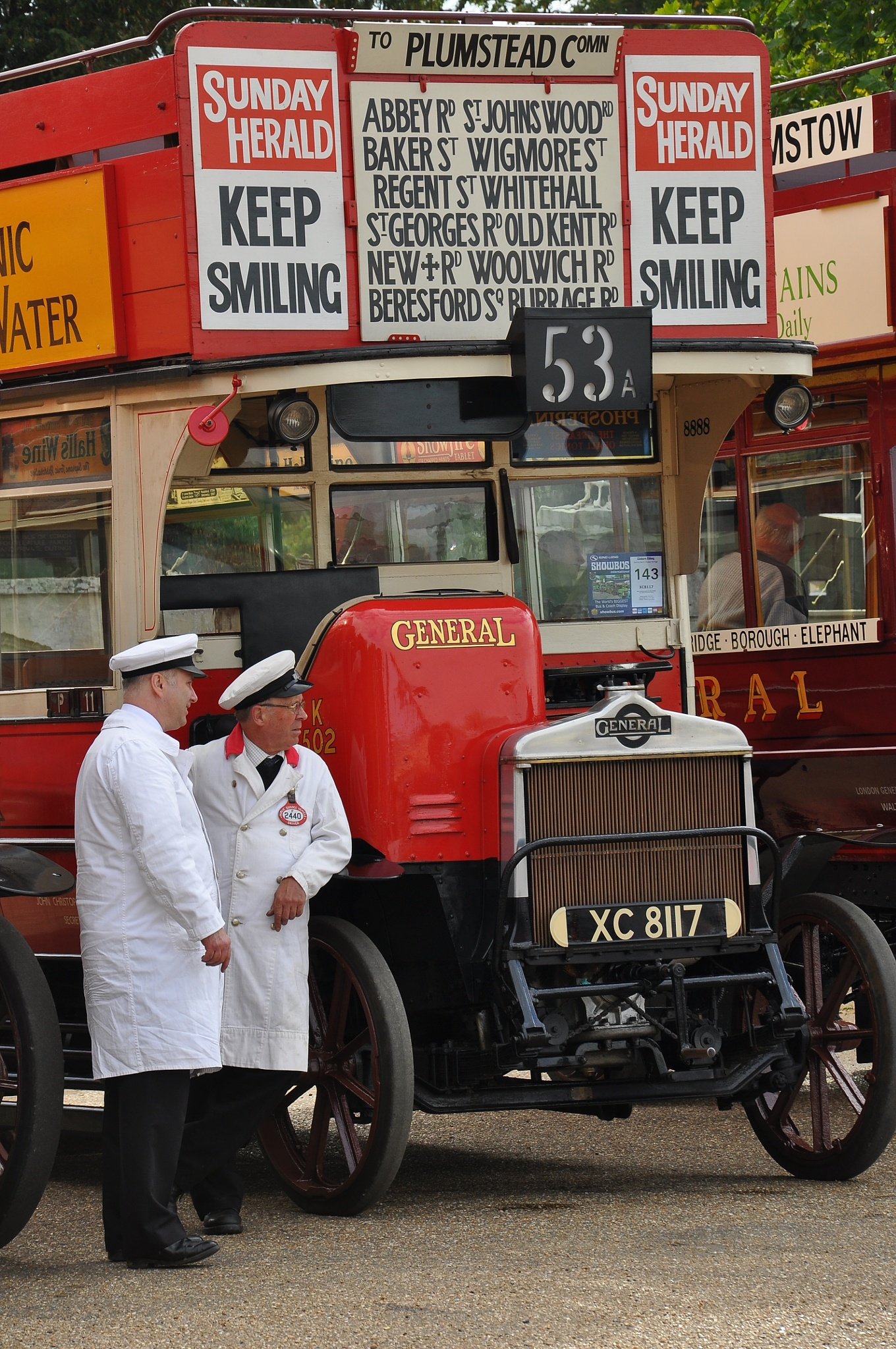London General Omnibus Company 'K' 502 at 'Showbus 2015' Woburn Abbey ,England  by Andy Wright