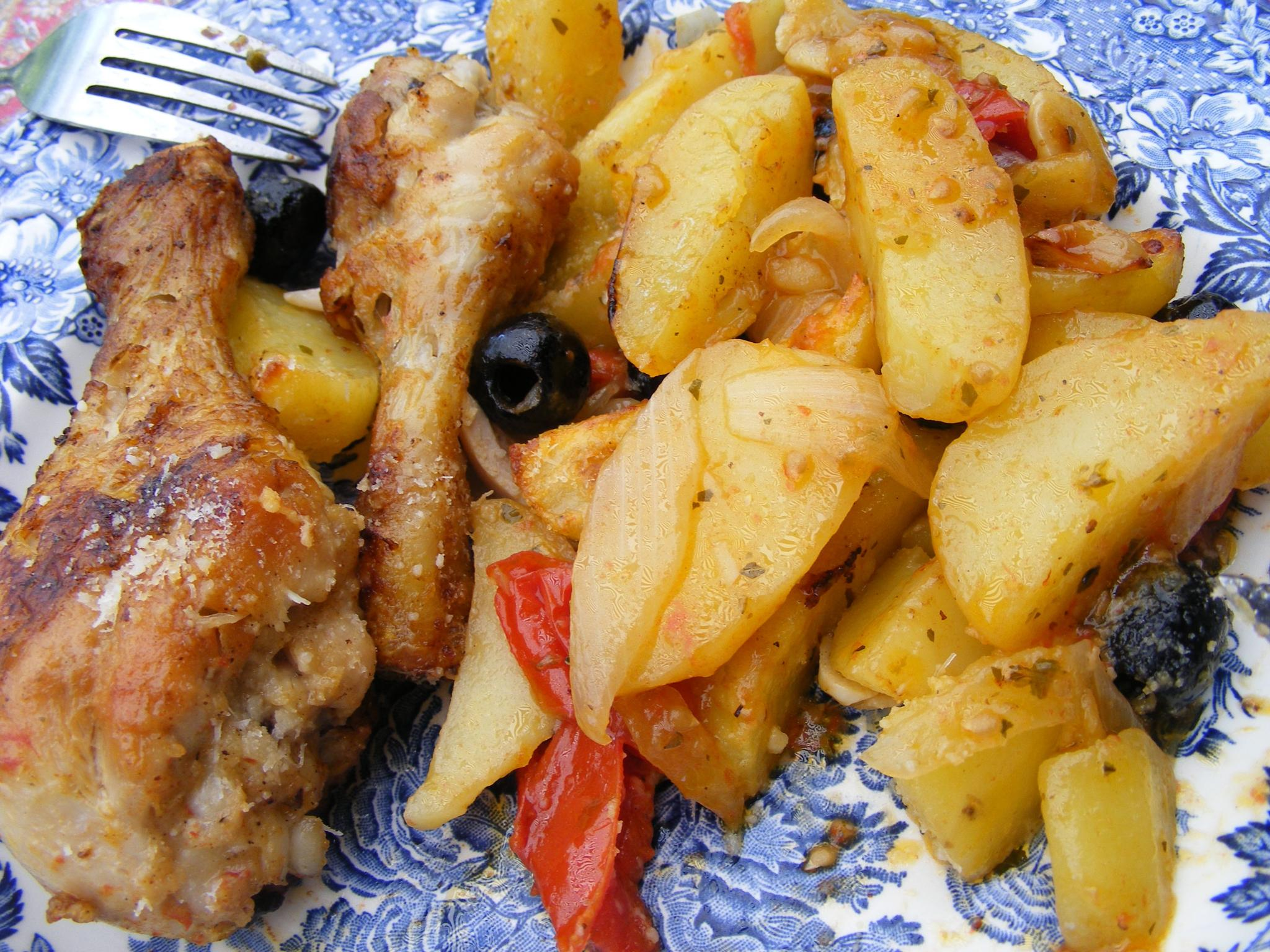 Pollo e patate. by swernthaler
