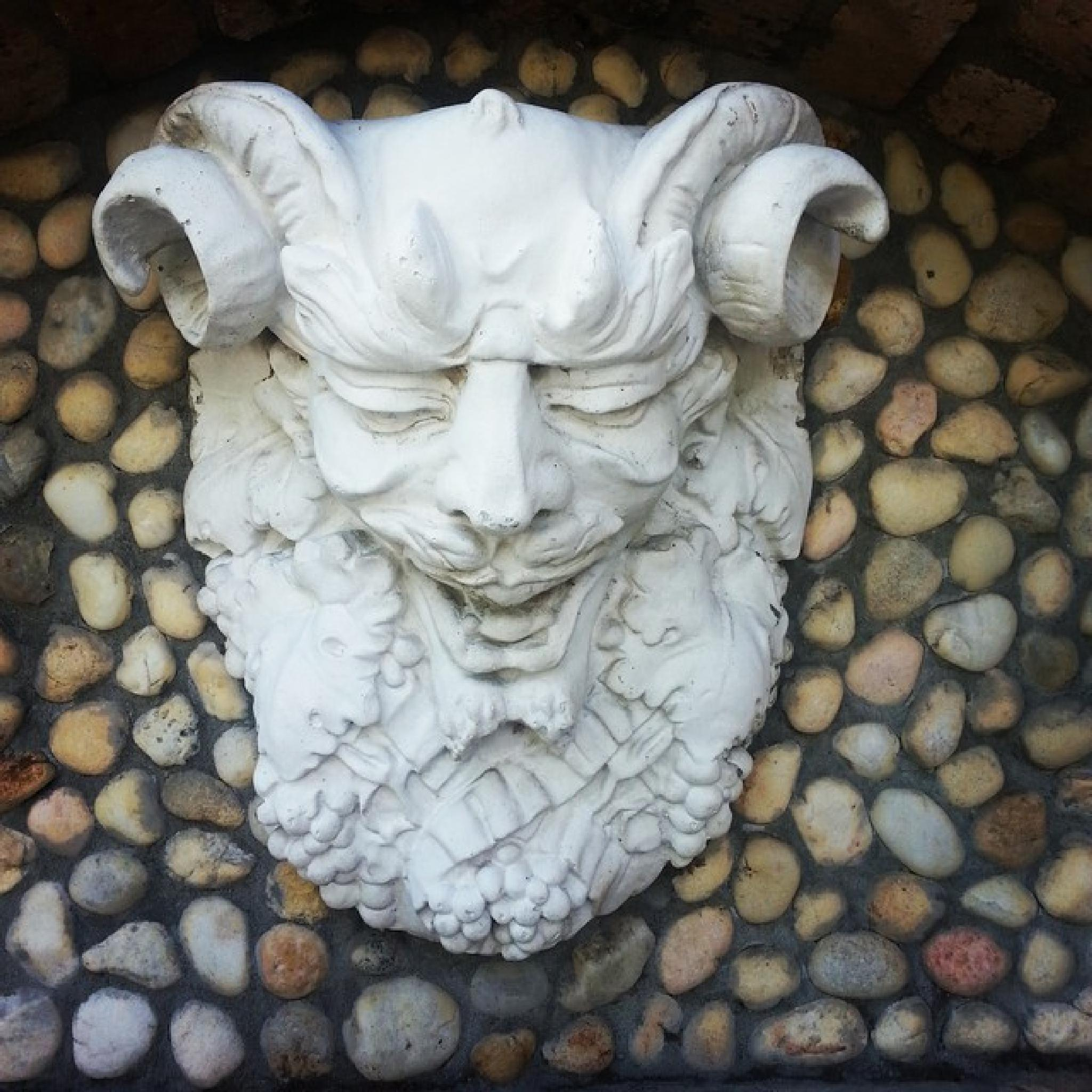 Horned God by tracy towle