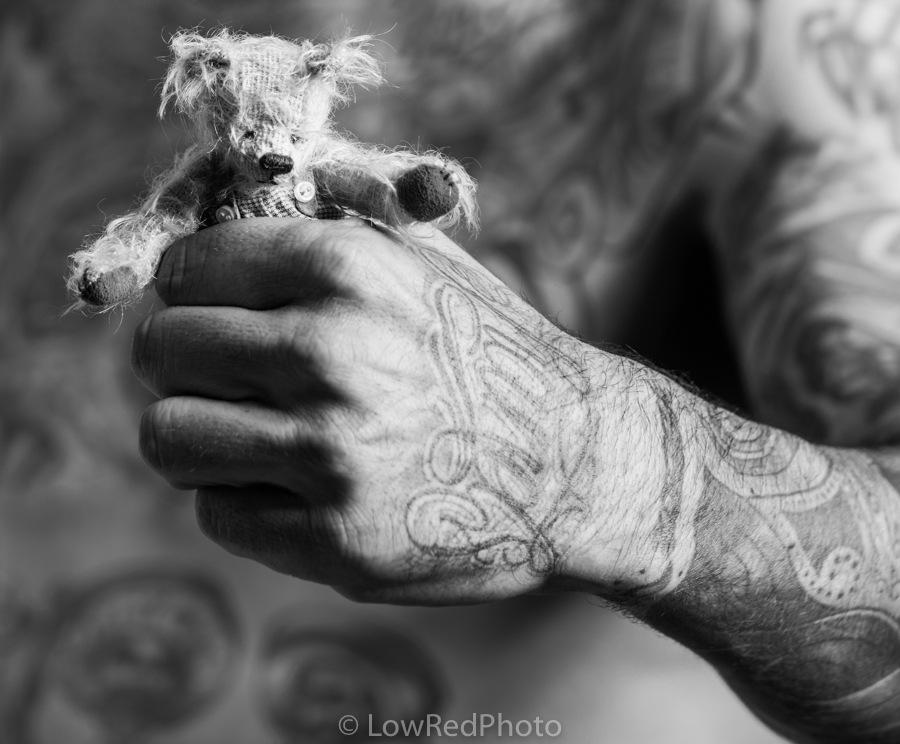 Teddy bear by LowRedPhoto