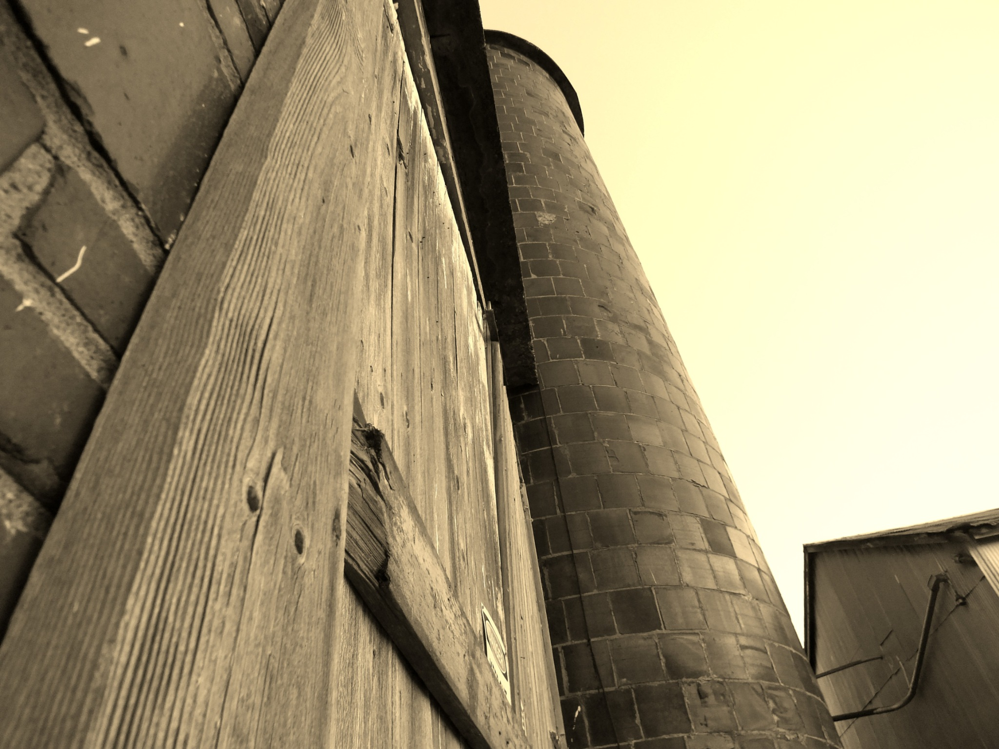 old  grain elevator  by don.wormsley