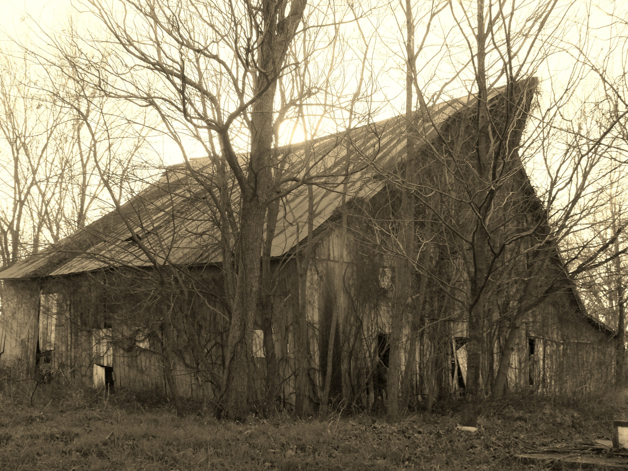 old barn by don.wormsley