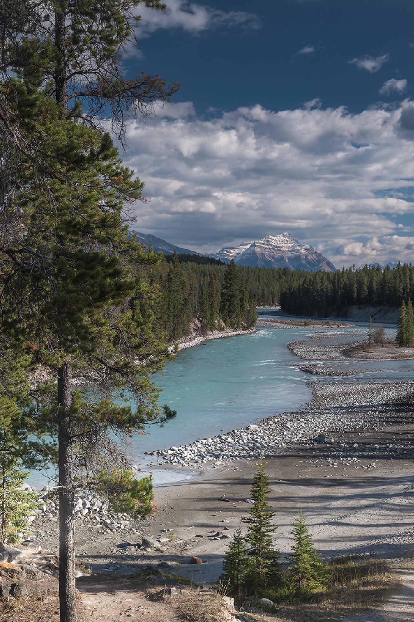 Athabasca River, Jasper by CJones64