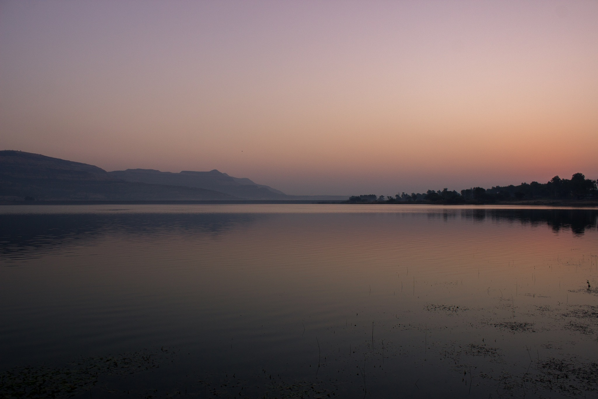 Lake before sunrise by Sonia S