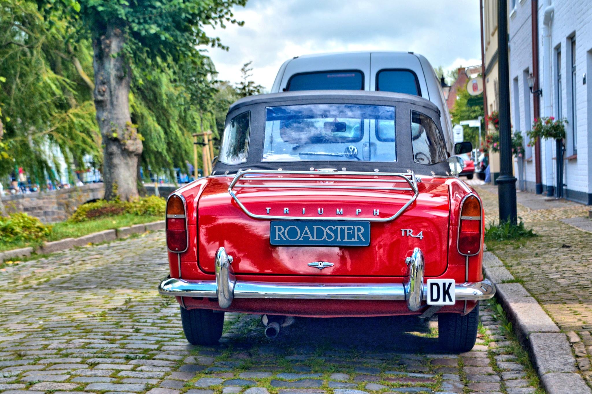 Triumpph Roadster TR4 in Friedrichstadt by RoPaFue