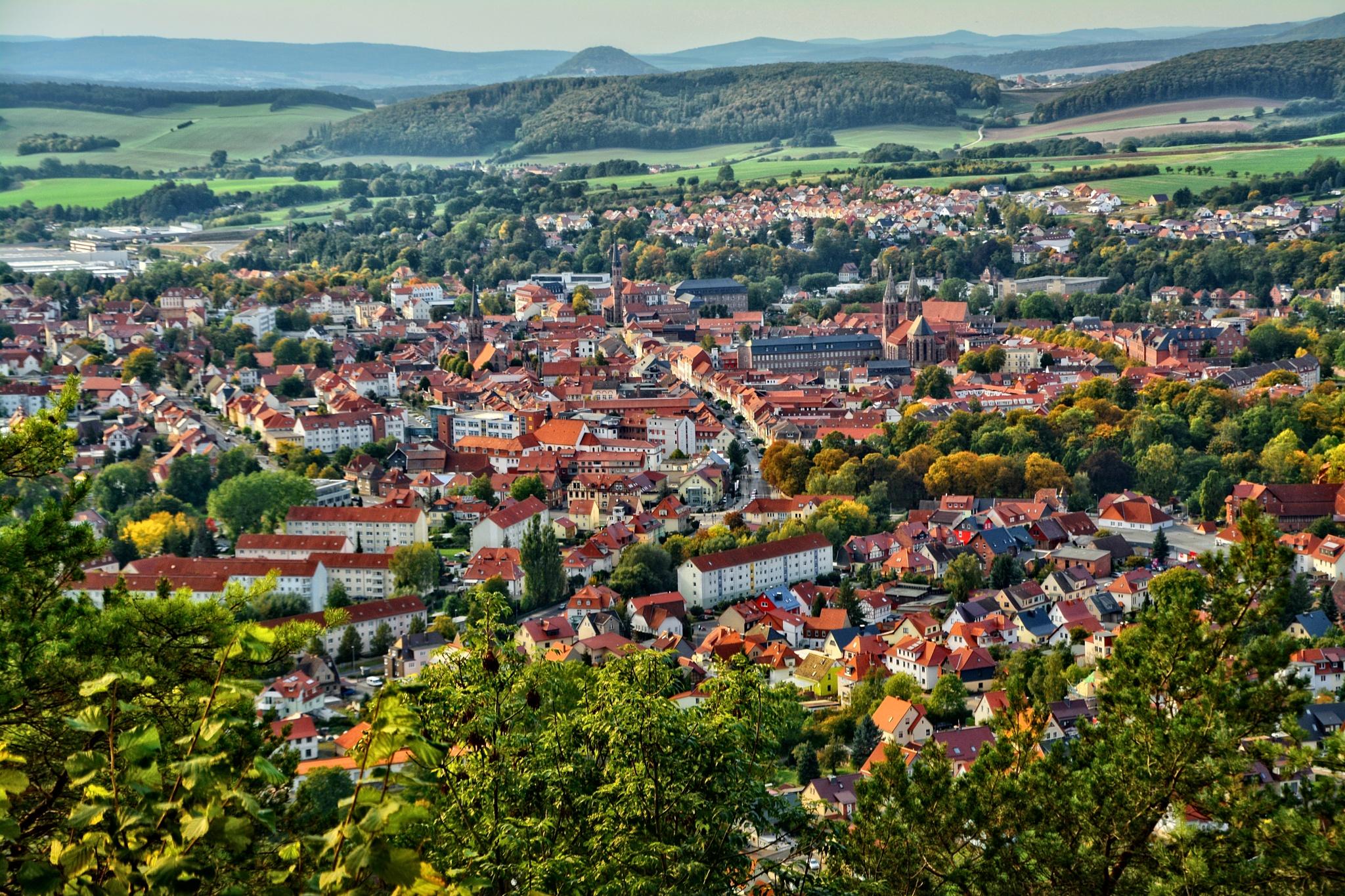 Blick auf meine Heimatstadt Heilbad Heiligenstadt by RoPaFue