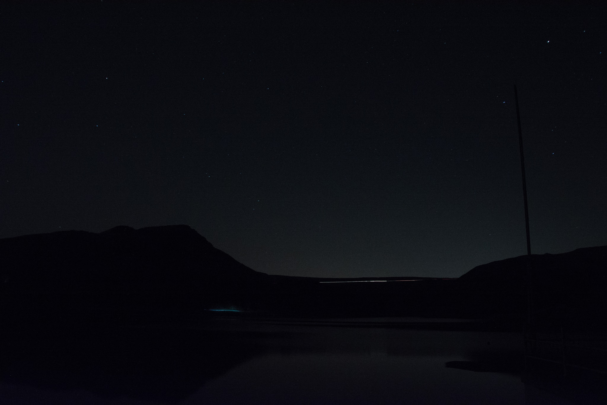 Night over Dovestones by ianjck