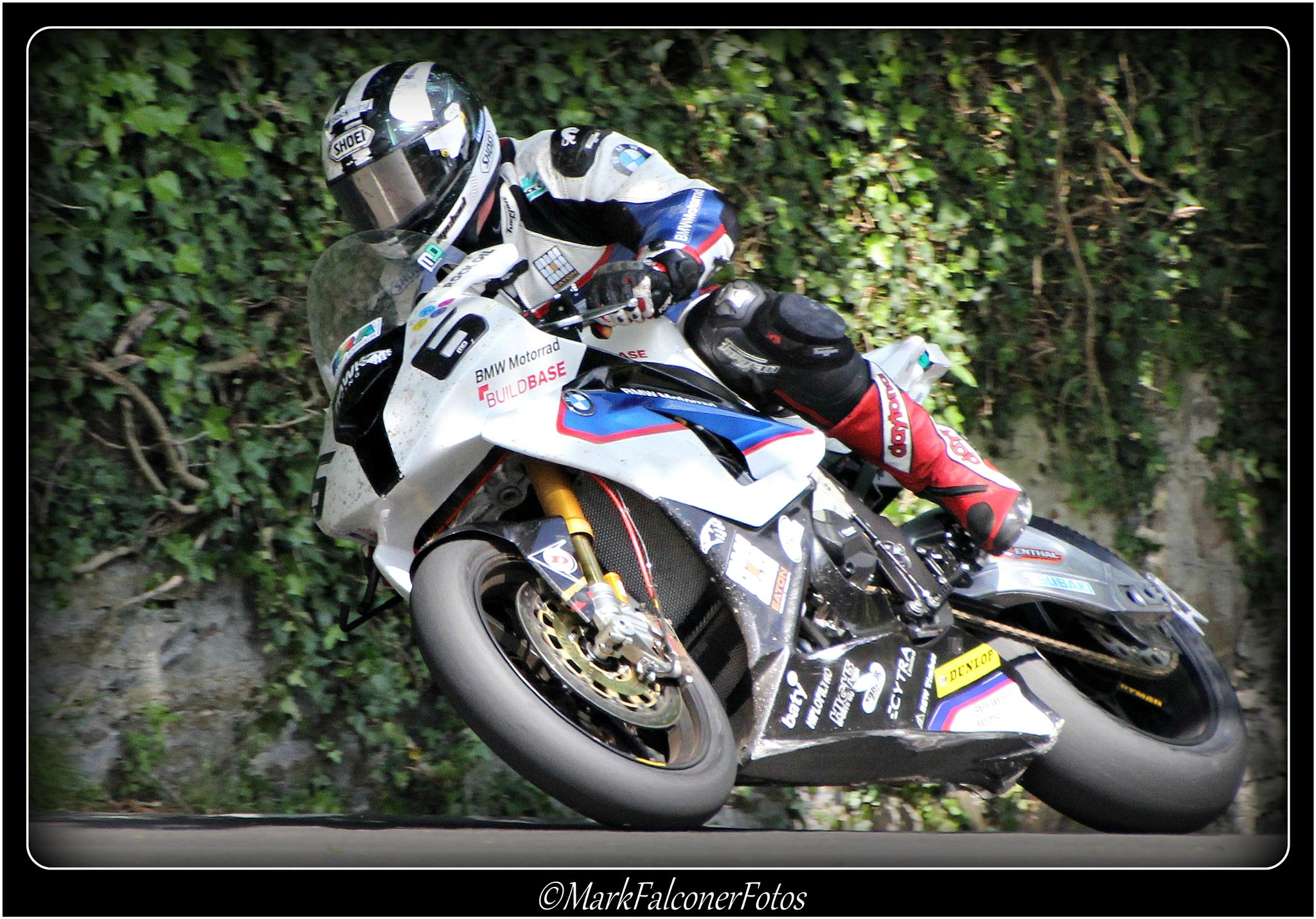 Michael Dunlop @ Isle of Man TT 2014 by Mark Falconer Fotos