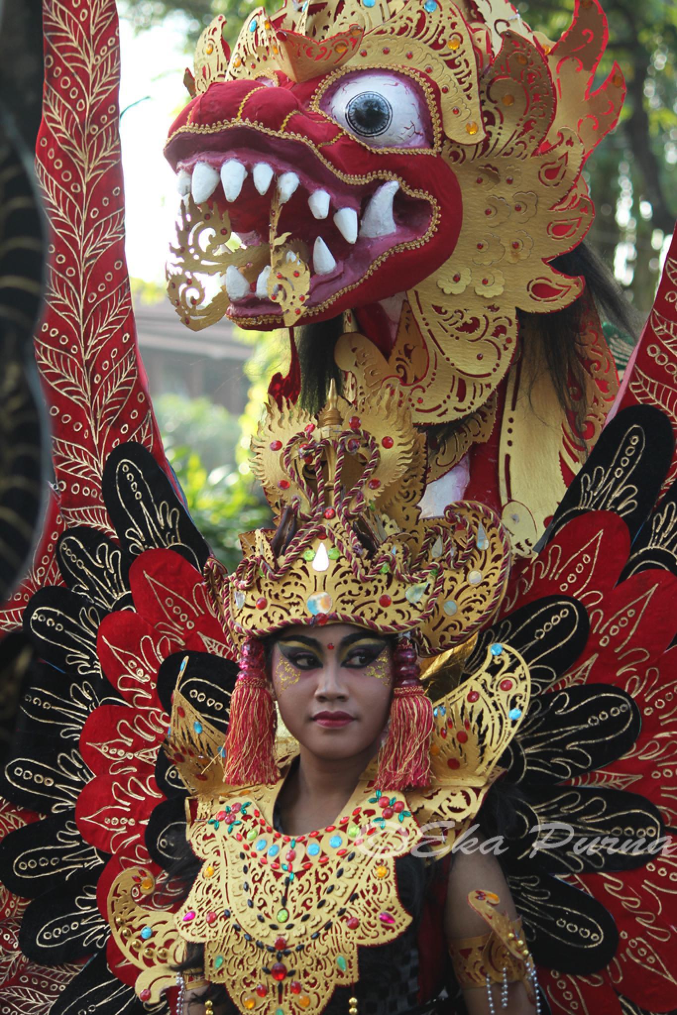 Red Dragon  by Eka Purna Sumeika