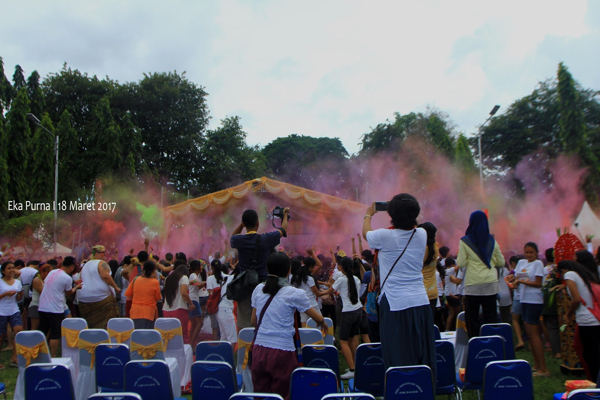 The Festival of Colours by Eka Purna Sumeika