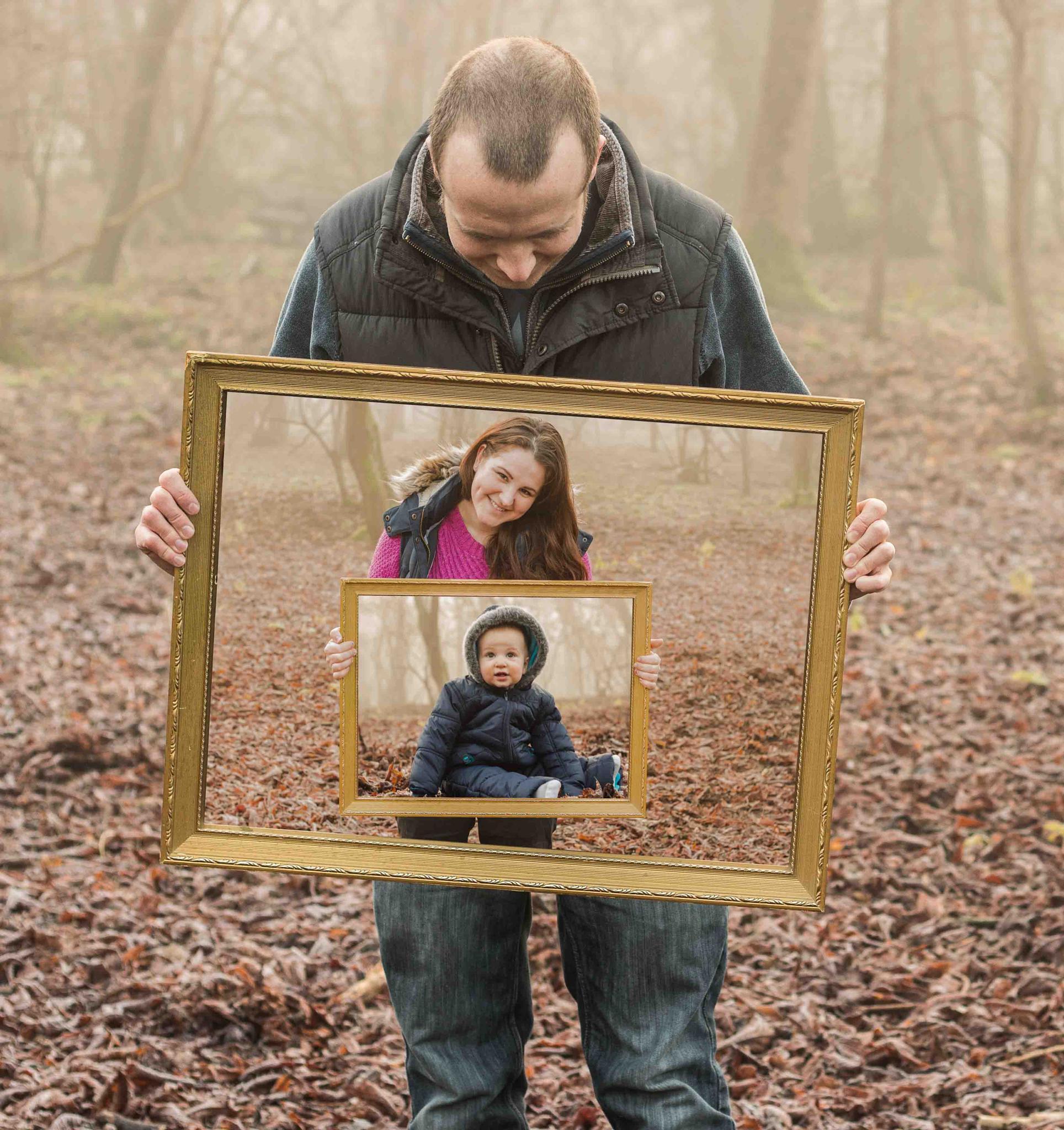 Abstract Family Portrait by matt