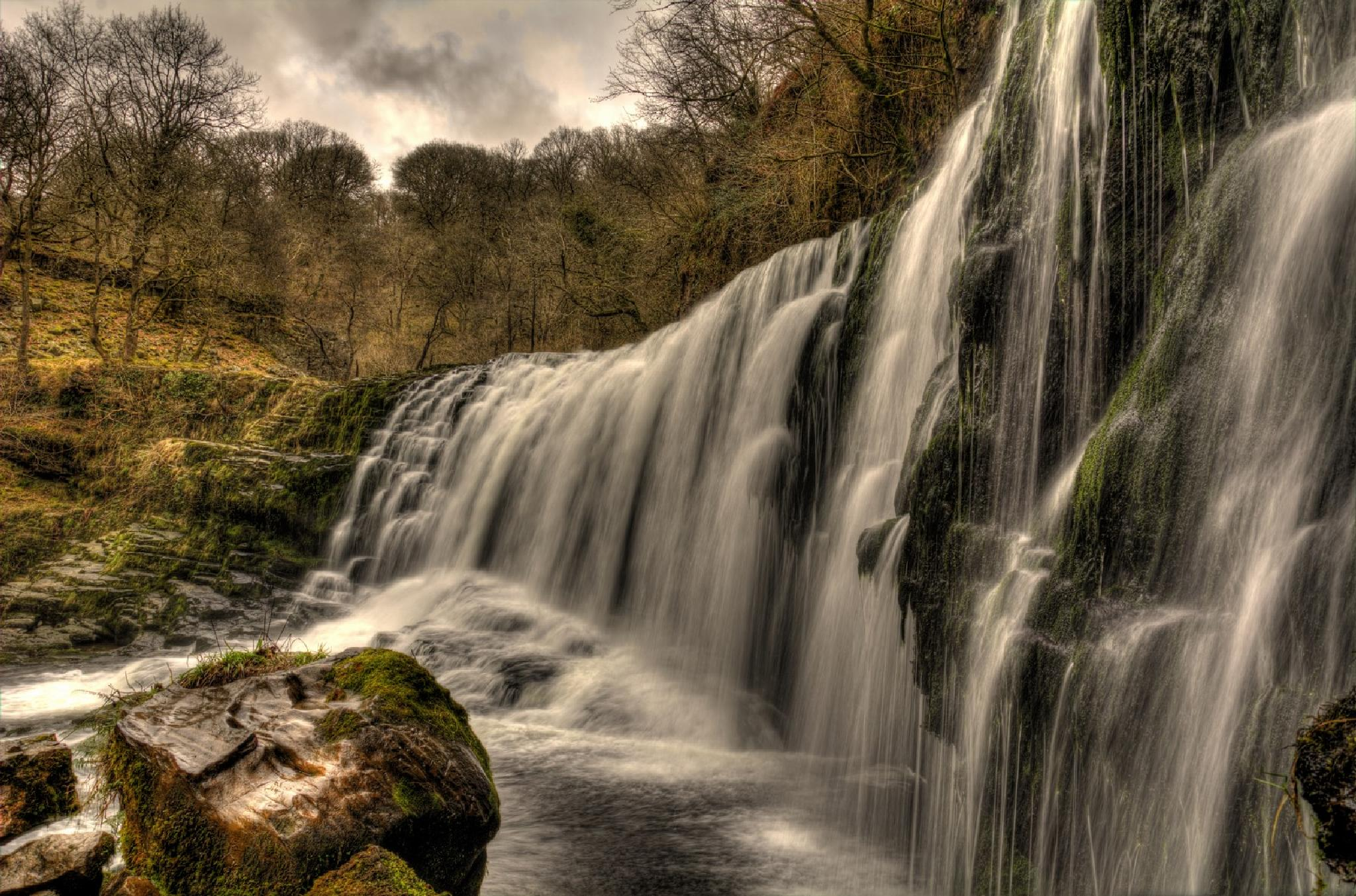 Photo in Nature #hdr #brecon #waterfall
