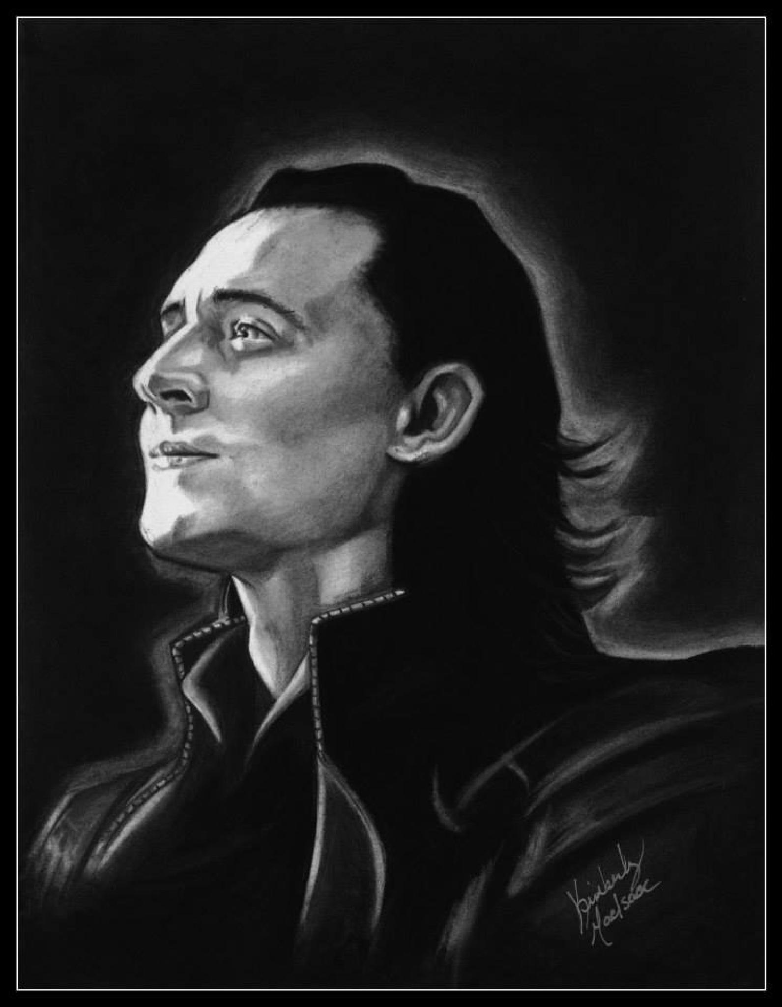 Loki- Kneel down before me, you mewling quim! by Kimberly MacIsaac