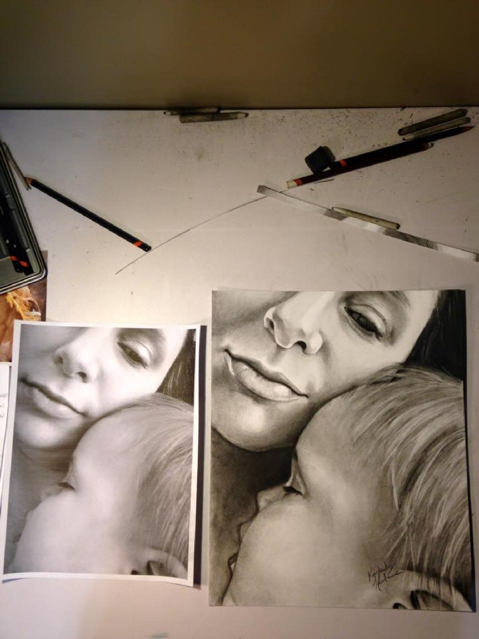 Photo in Family #portrait #art