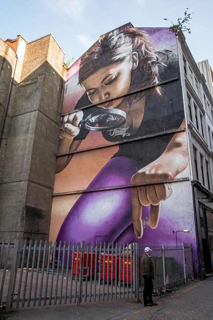 Artist Smugone, Glasgow by Dave