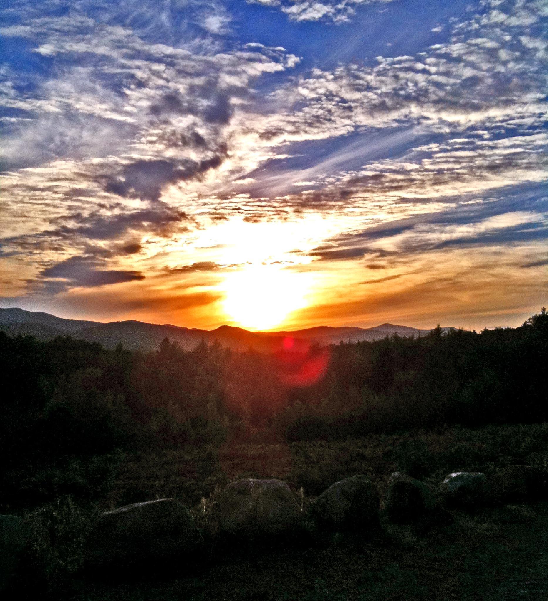 Photo in Landscape #sun down #sunrise #mountains #sun
