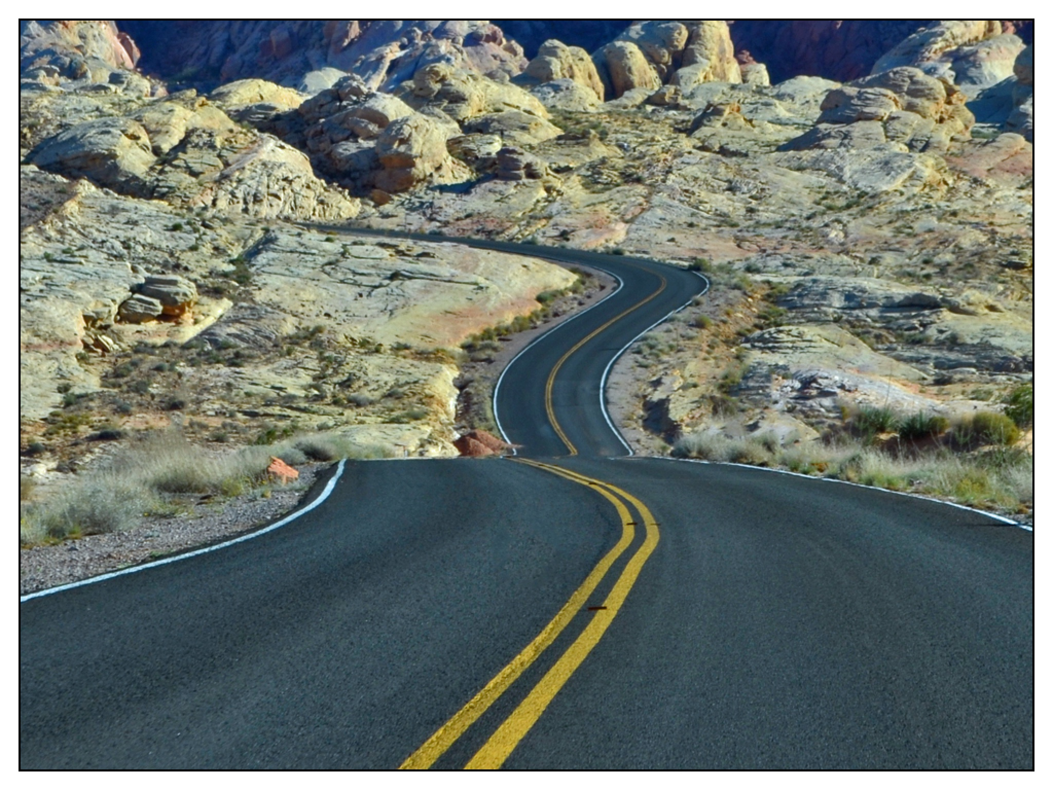 Winding Road by Fay R. Dildine, Jr.