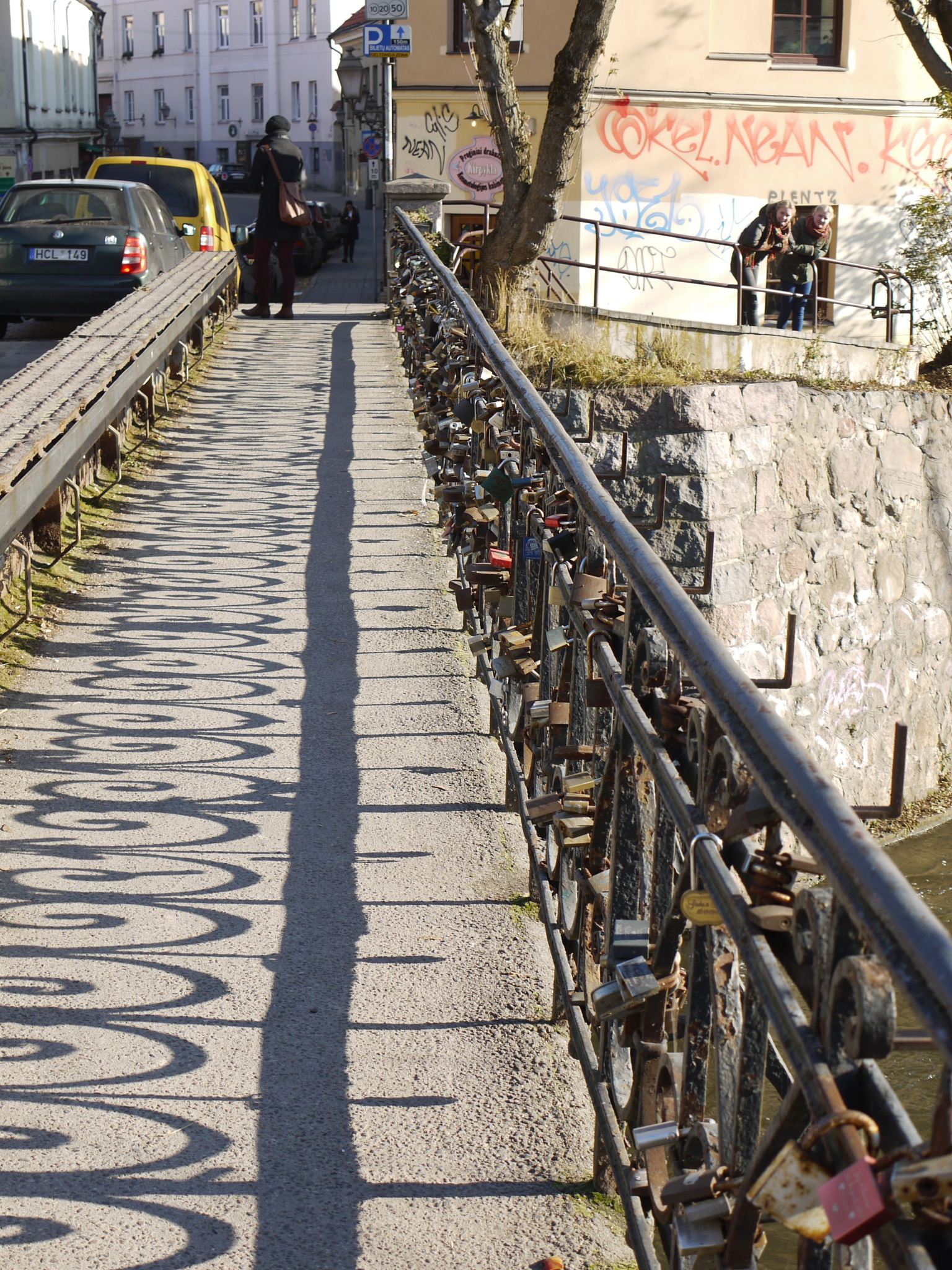 Bridge of Love Locks by dave clarke