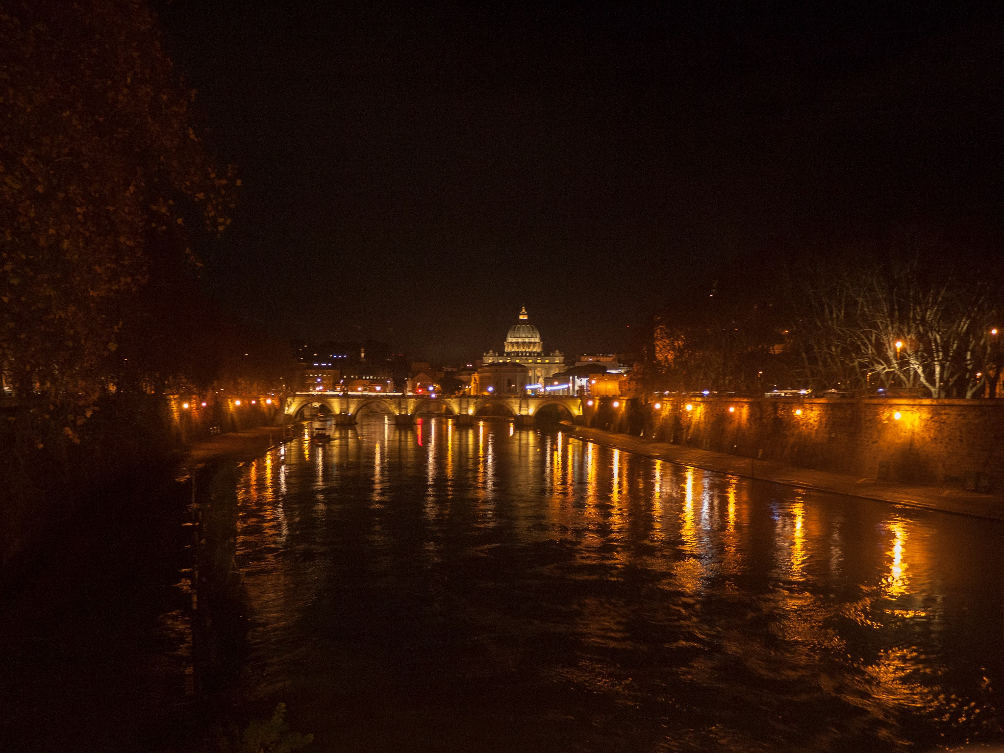 Rome at Night by dave clarke