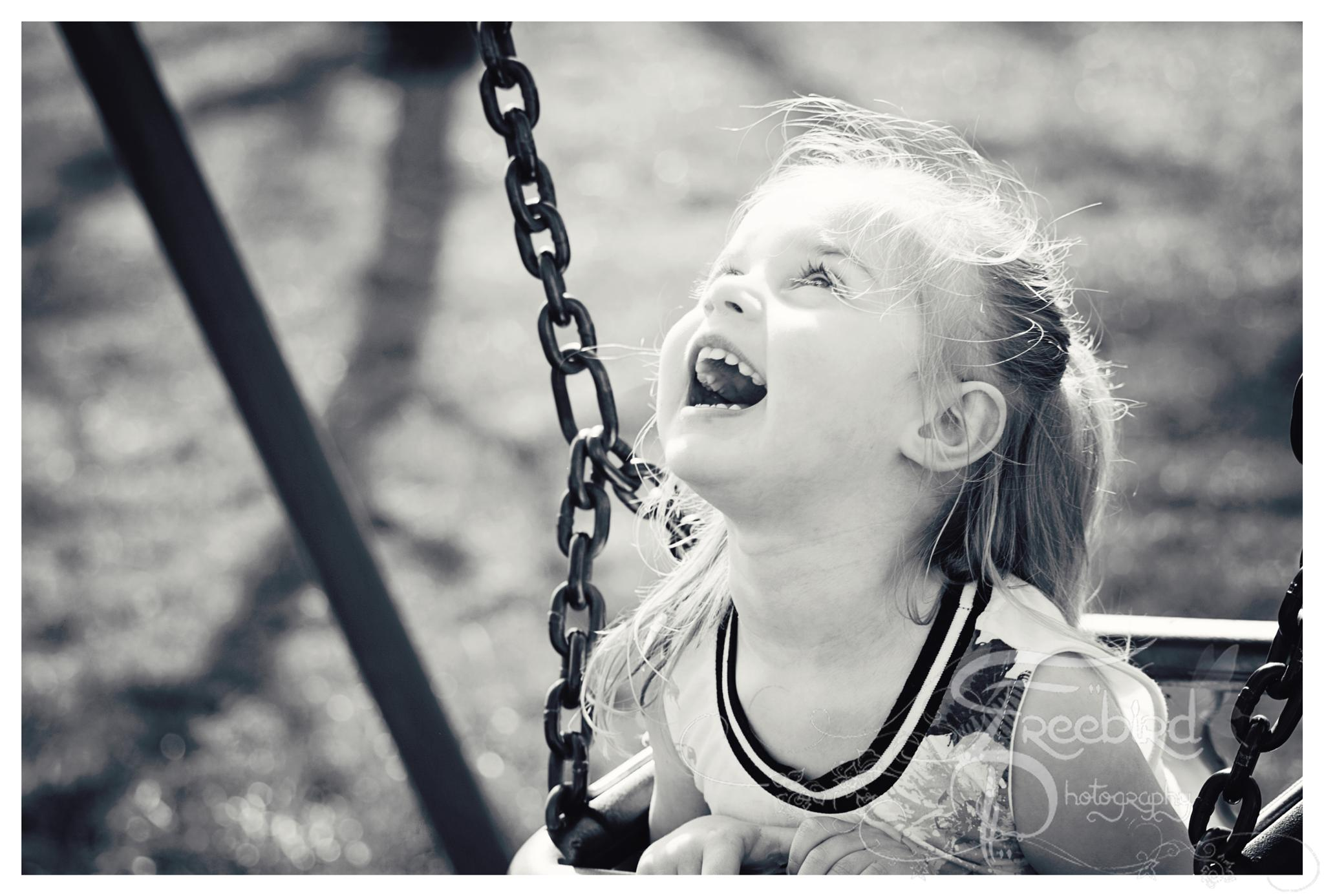 Photo in Portrait #park #swing #princess