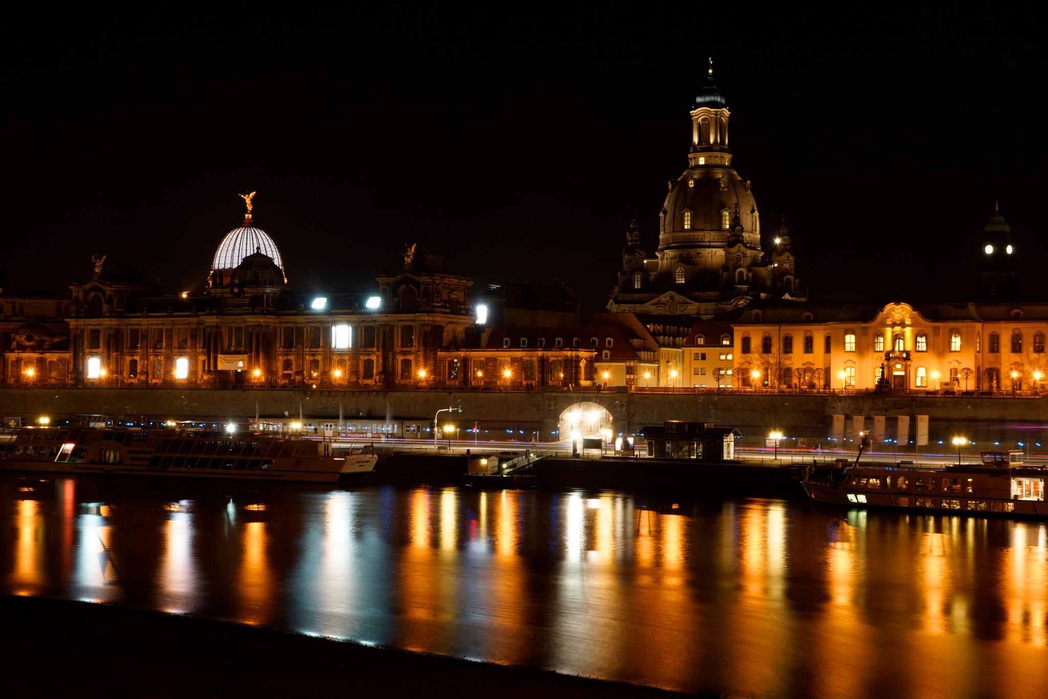 Dresden by night by xs5