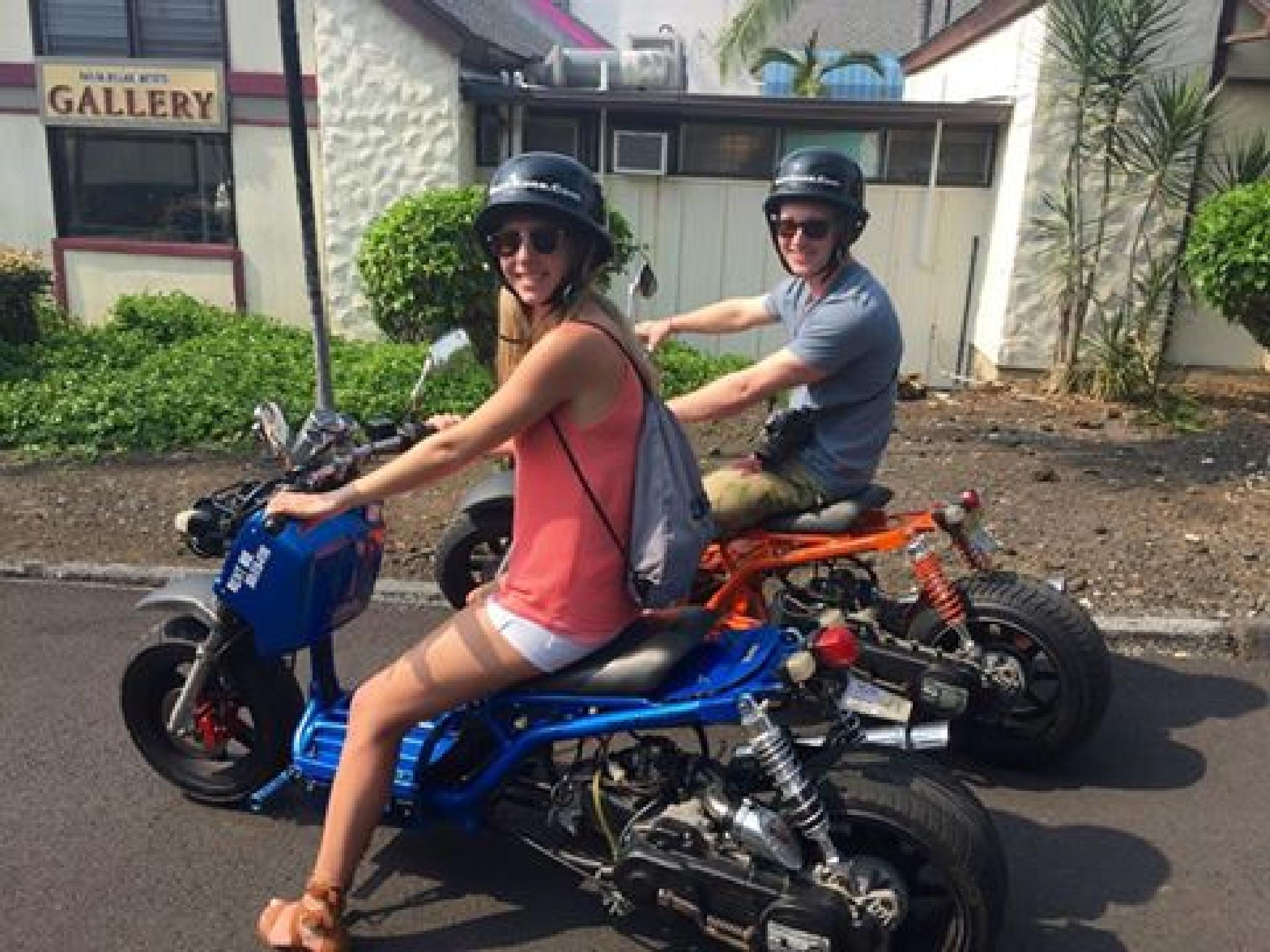 Waikiki scooter rentals by surfkonacom