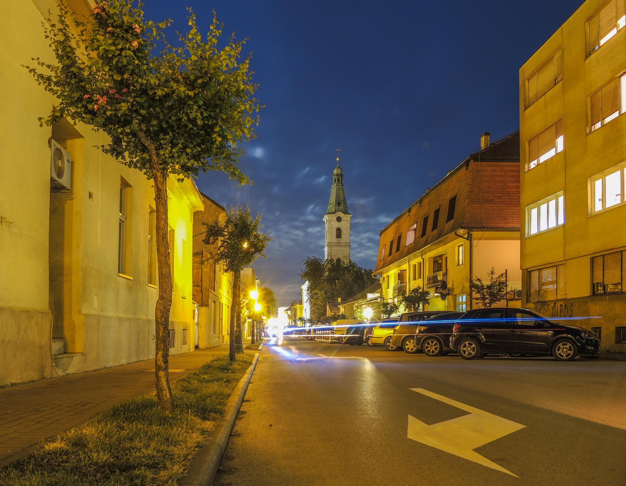 Bjelovar by night  by stefan.brajkovic