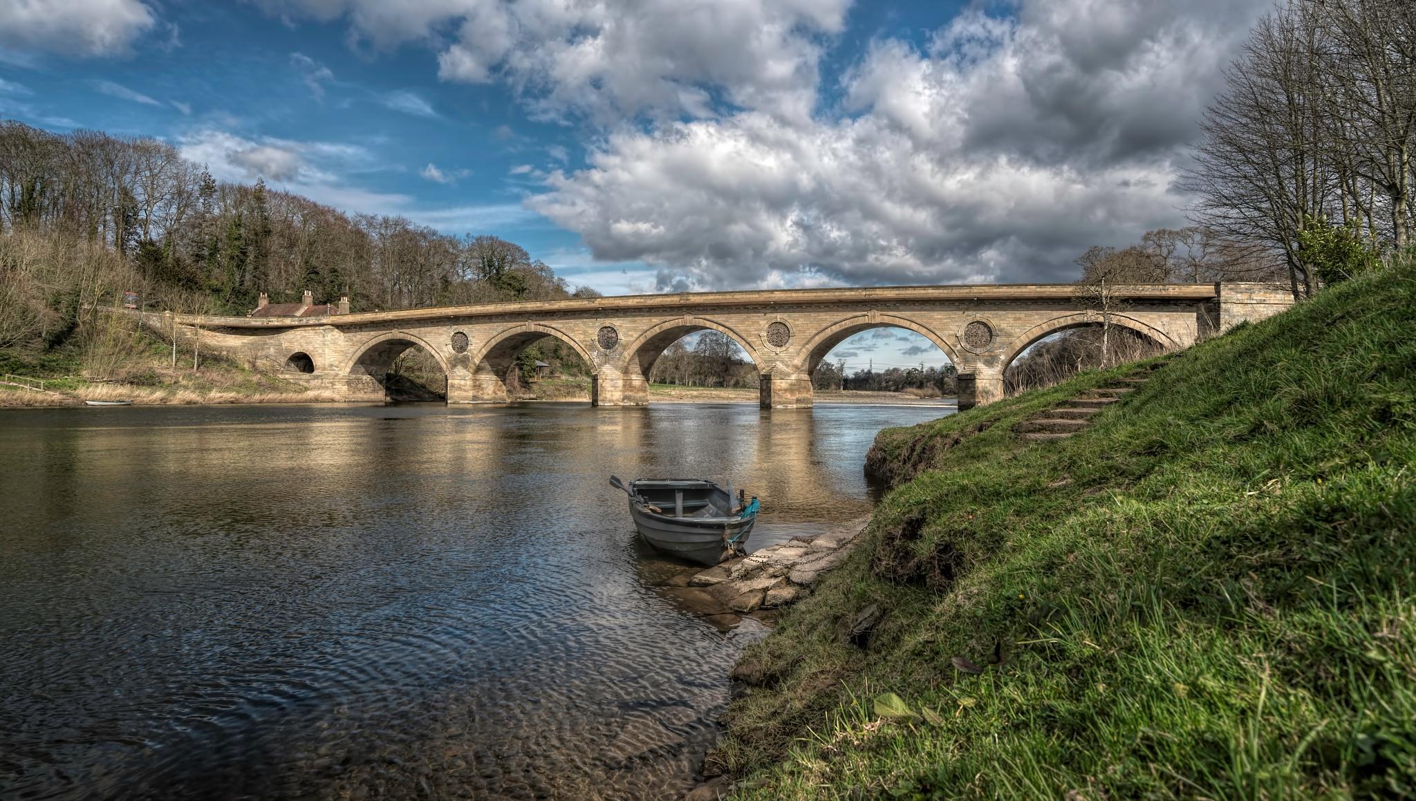Coldstream Bridge by Kevin R Shaw