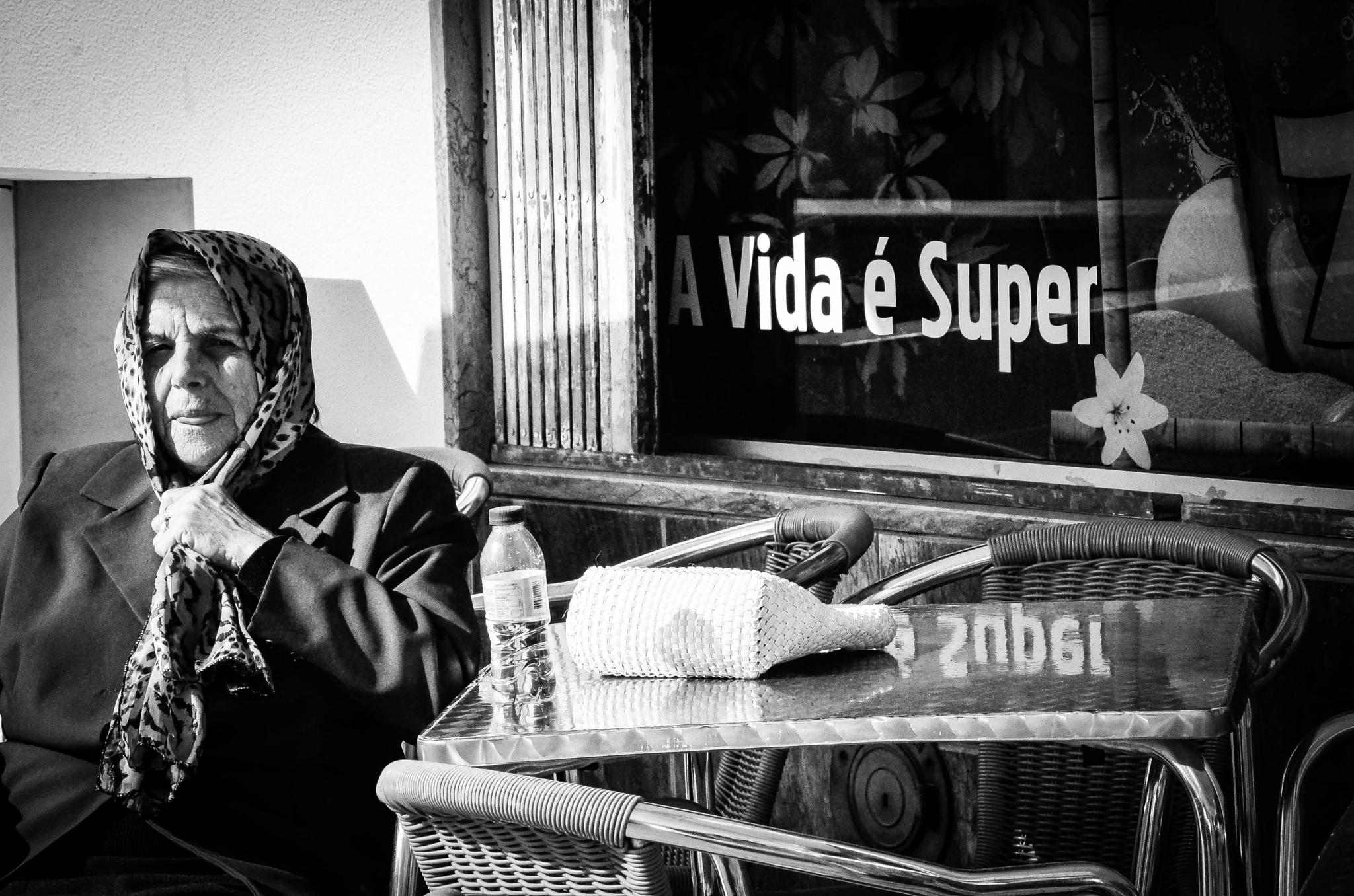 Photo in Black and White #old lady #black/white #grandmother