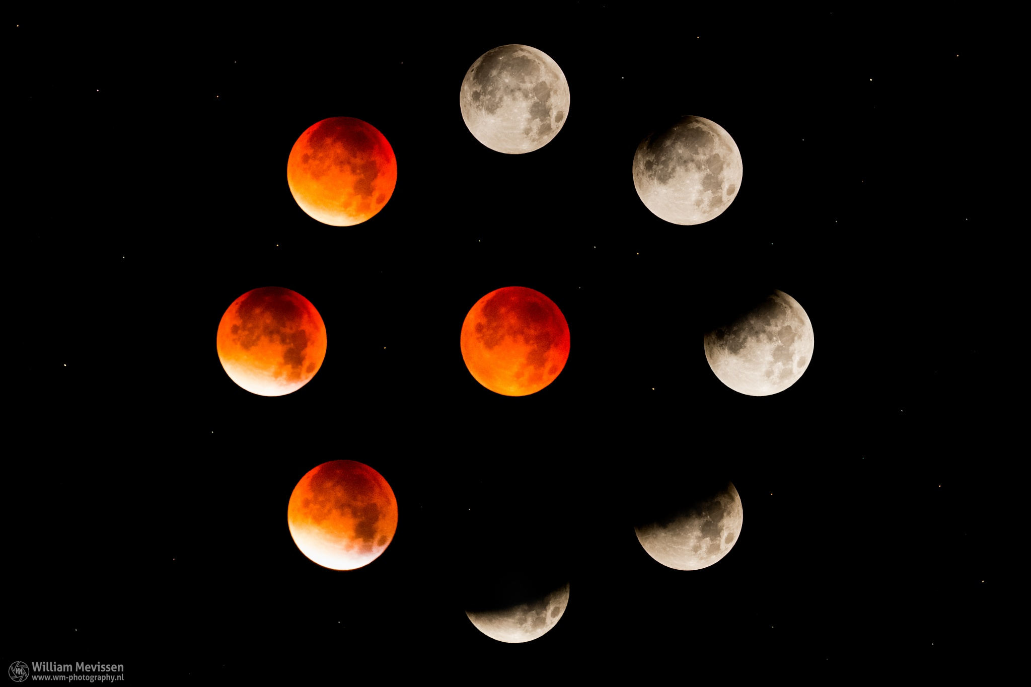 Blood Moon Circle by William Mevissen