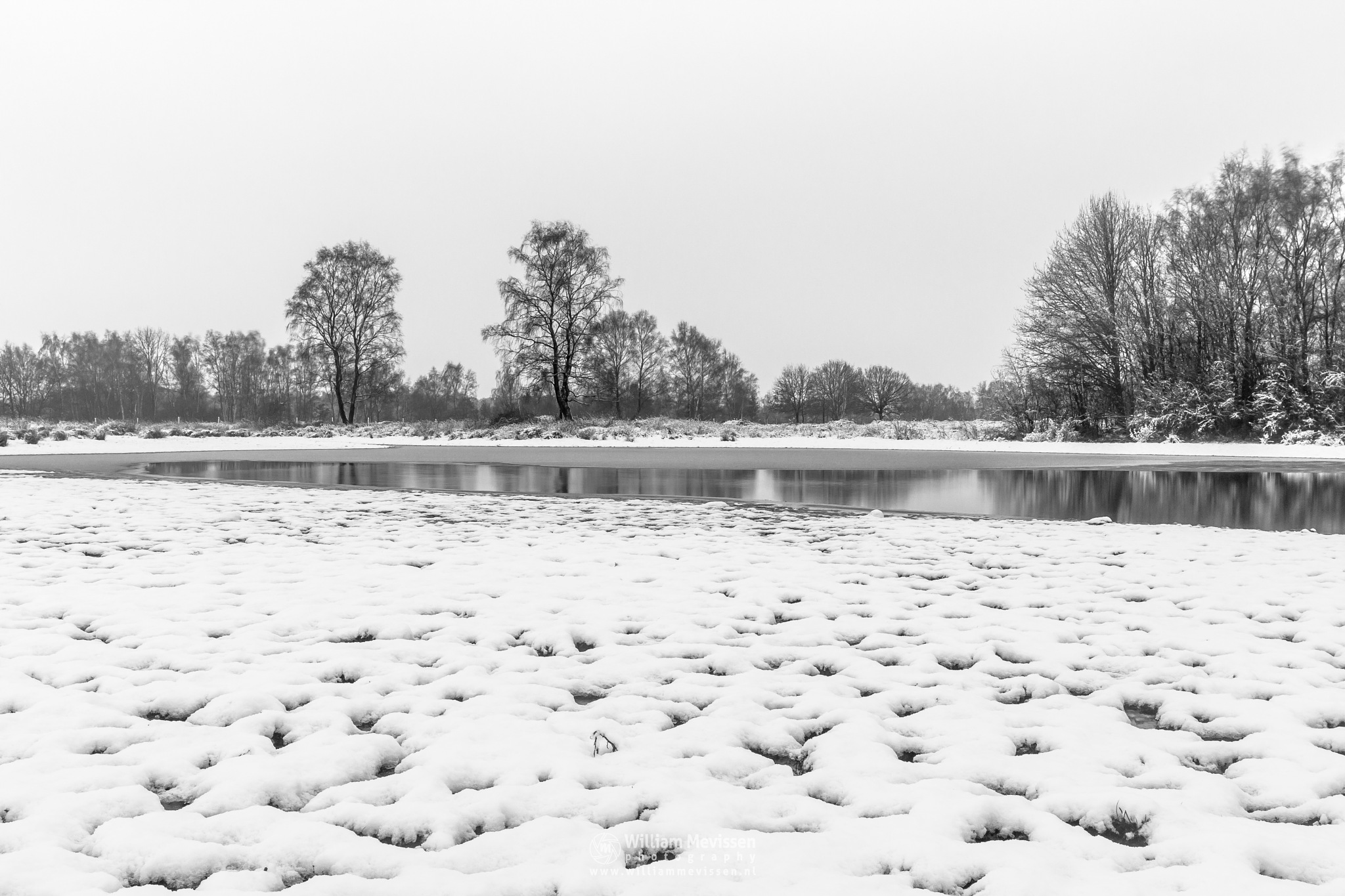 Cold Winter Rondven by William Mevissen