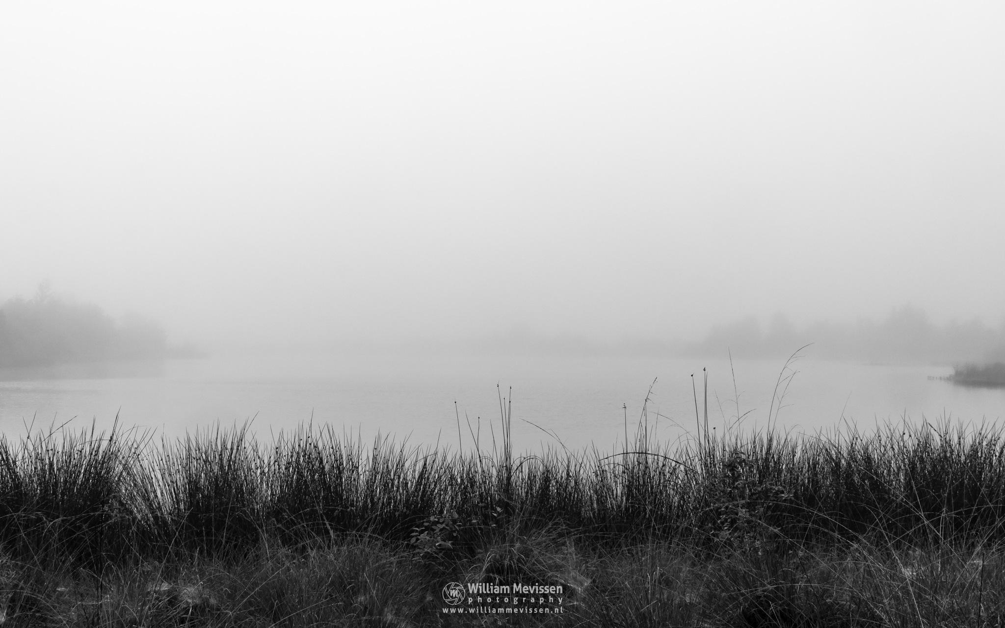Foggy Westmeerven by William Mevissen
