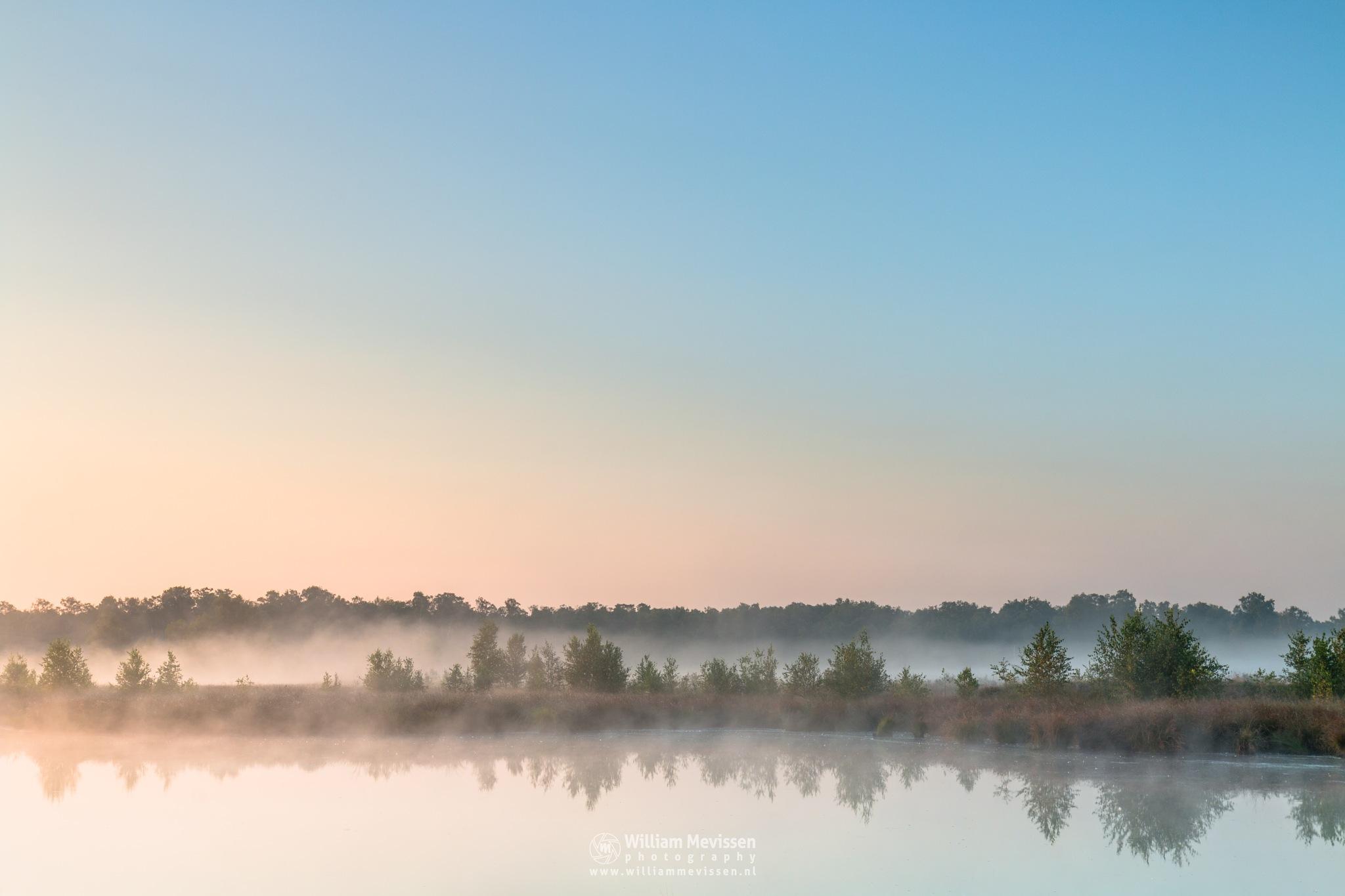 Misty Sunrise Fen by William Mevissen