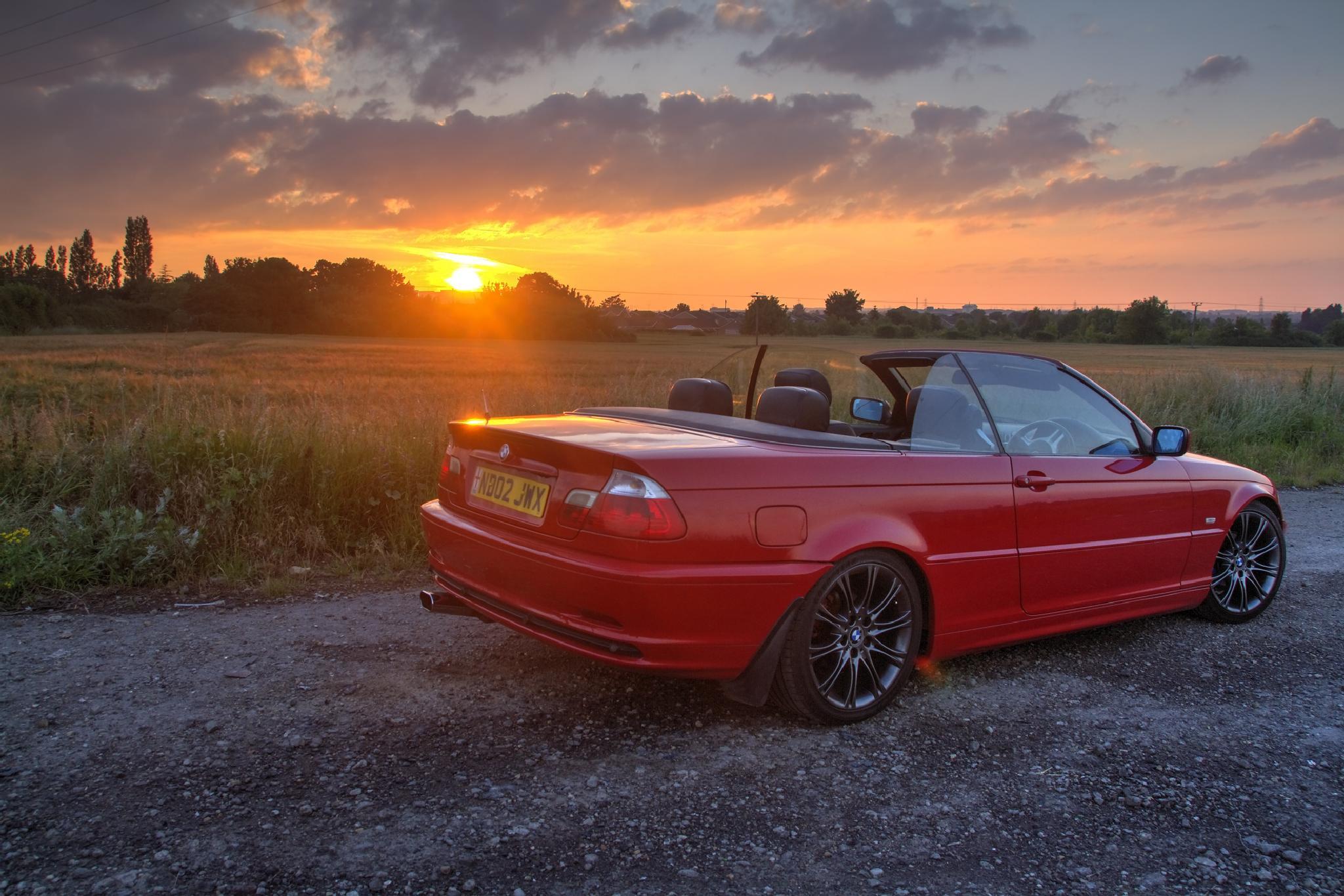 BMW SUNSET by Jason Lavine