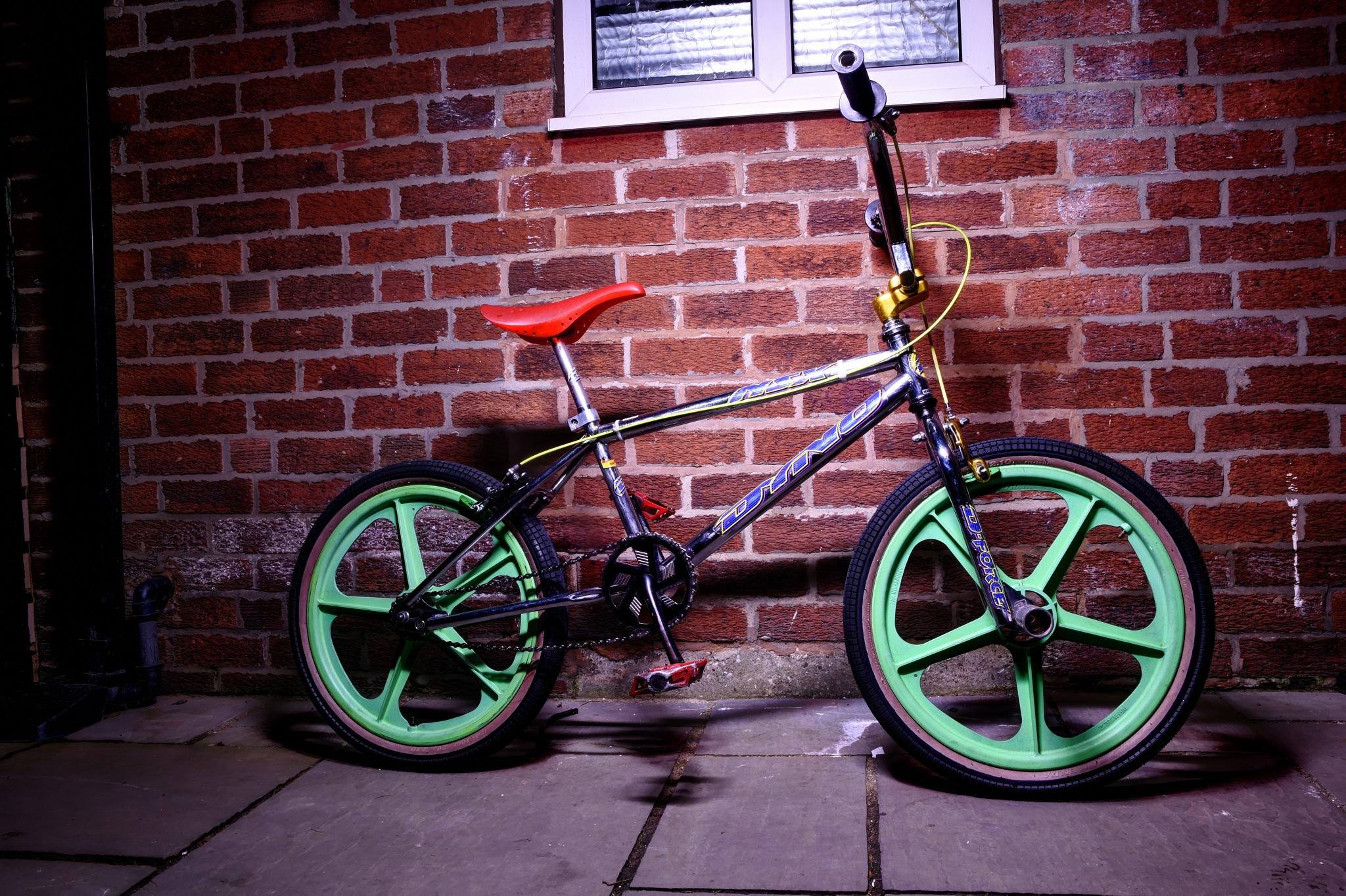 mid school GT Dyno BMX by Jason Lavine