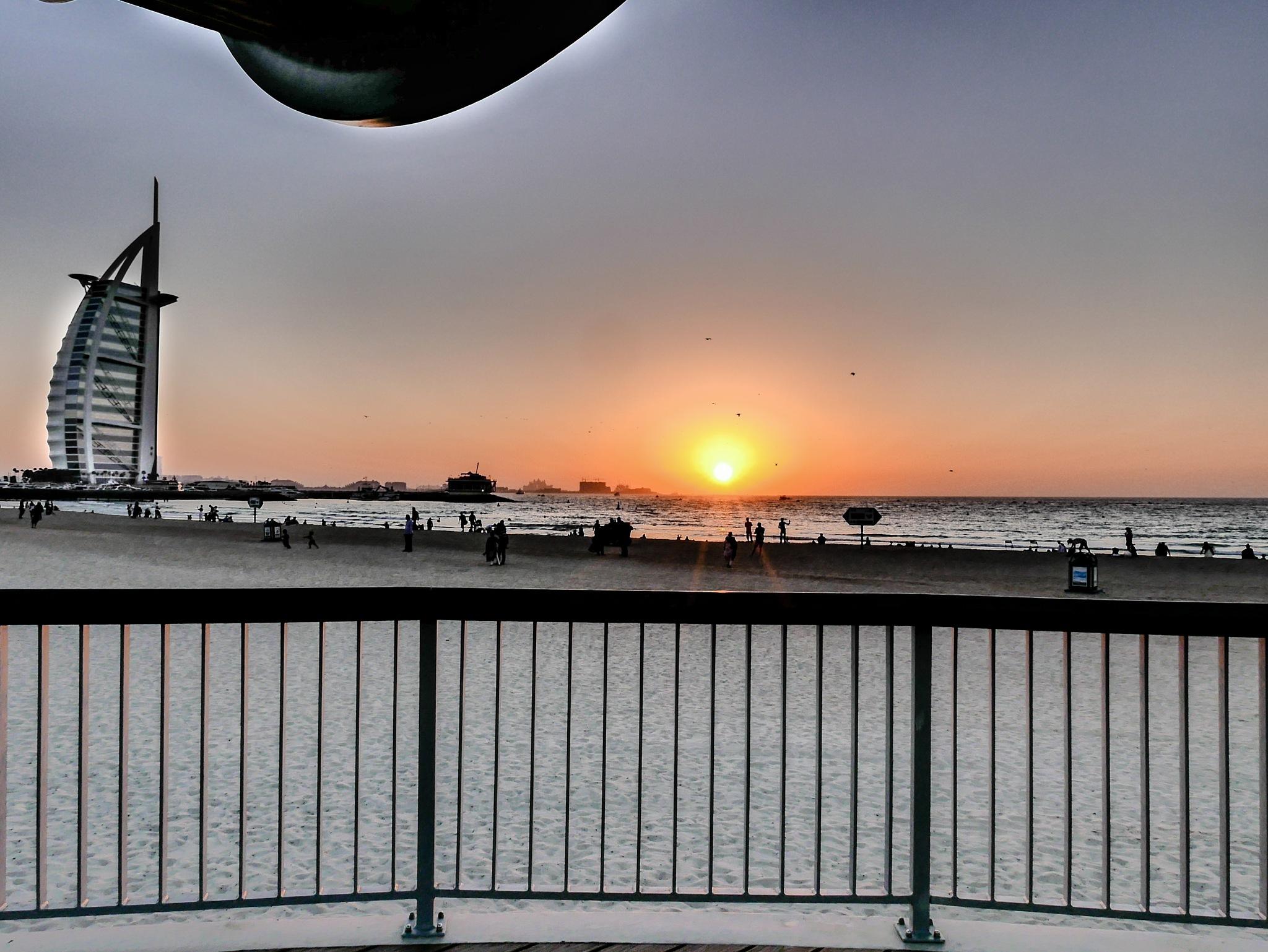 Burj Sunset, Dubai 2018 by dxbimran
