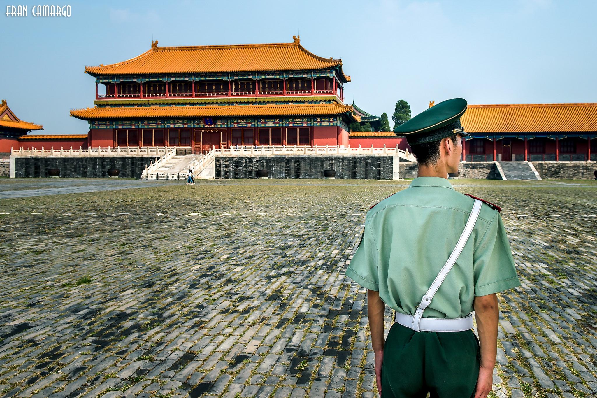 Forbidden City Beijing by Fran Camargo