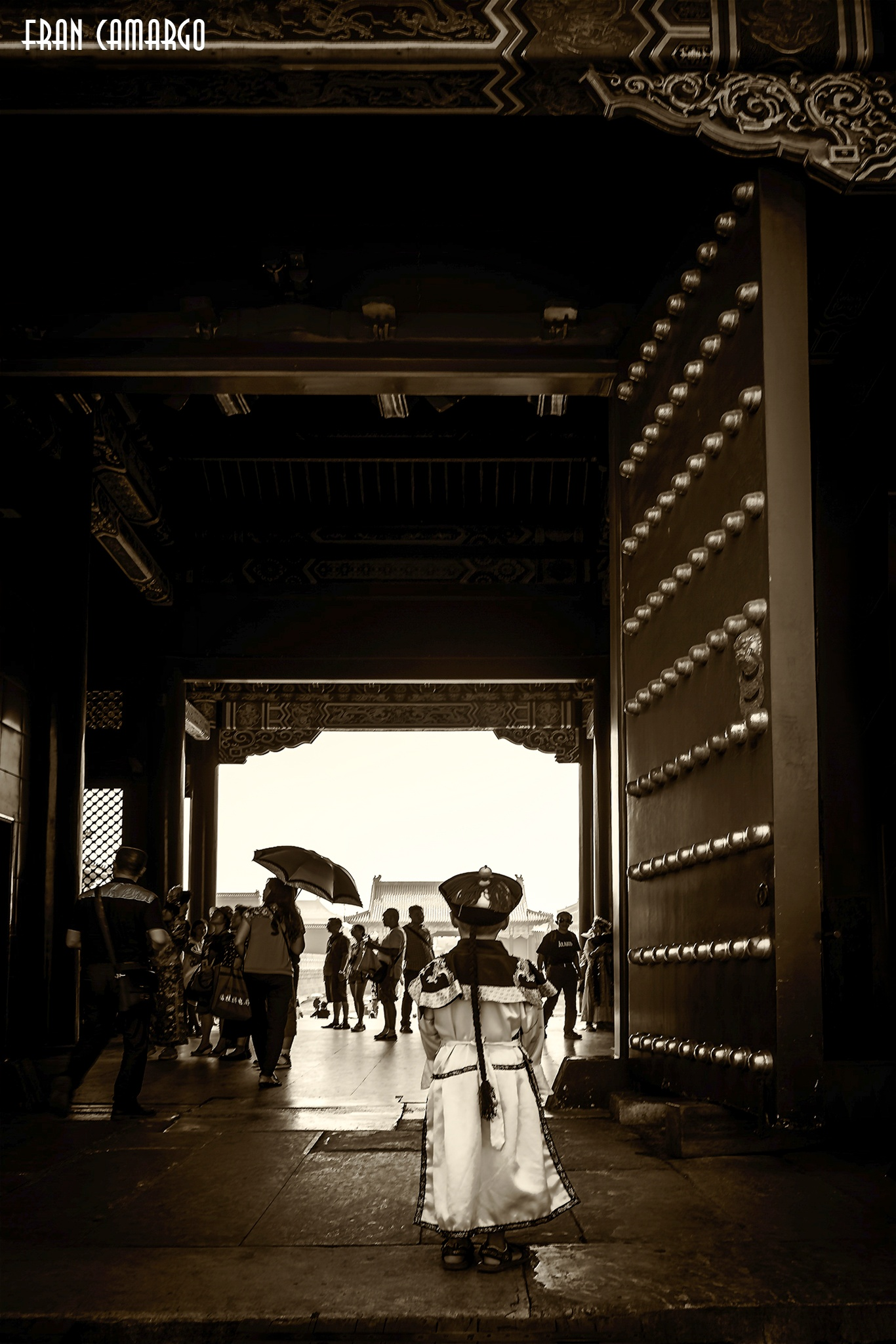 Forbidden City Beijing by Fran Camargo