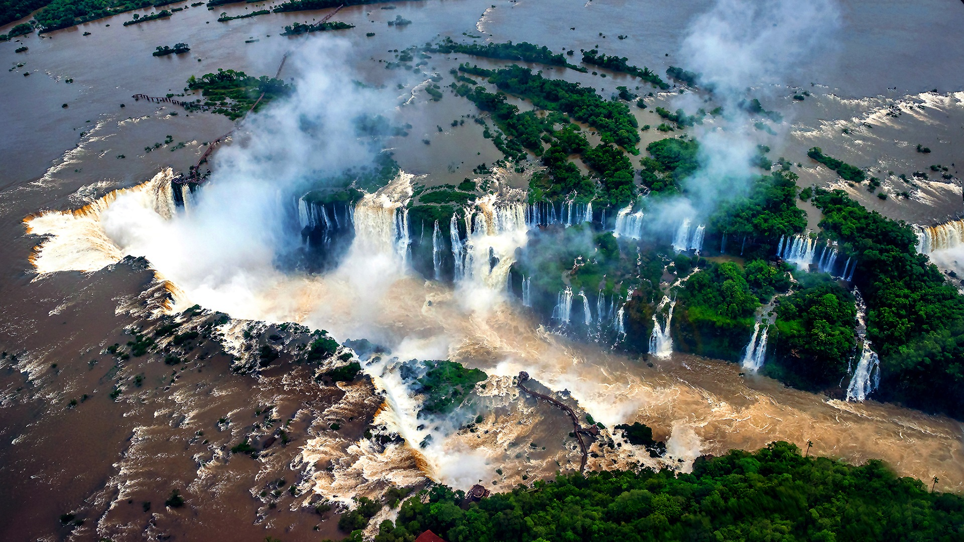 Foz do Iguaçu National Park - Brazil by Fran Camargo