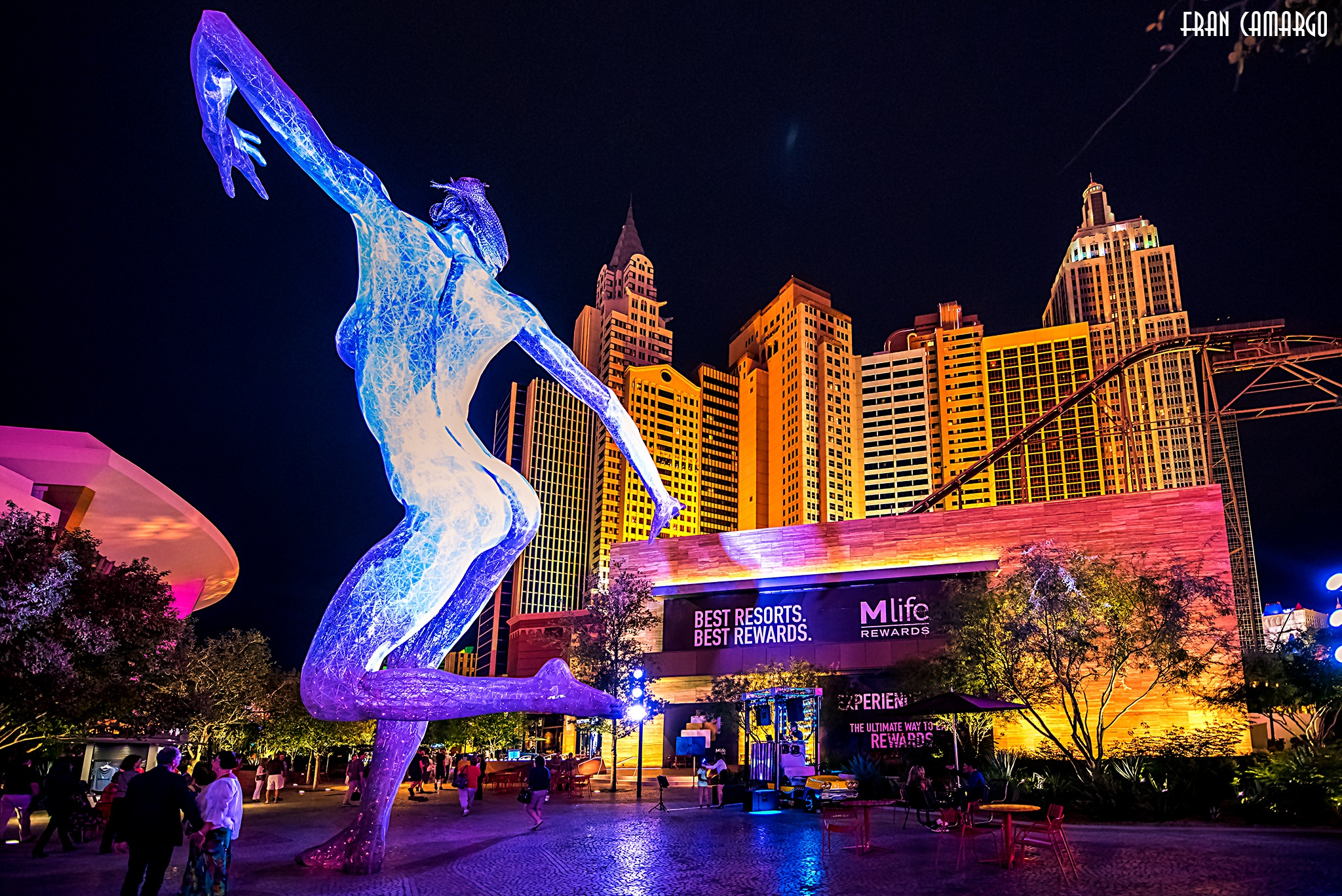 Las Vegas by Fran Camargo