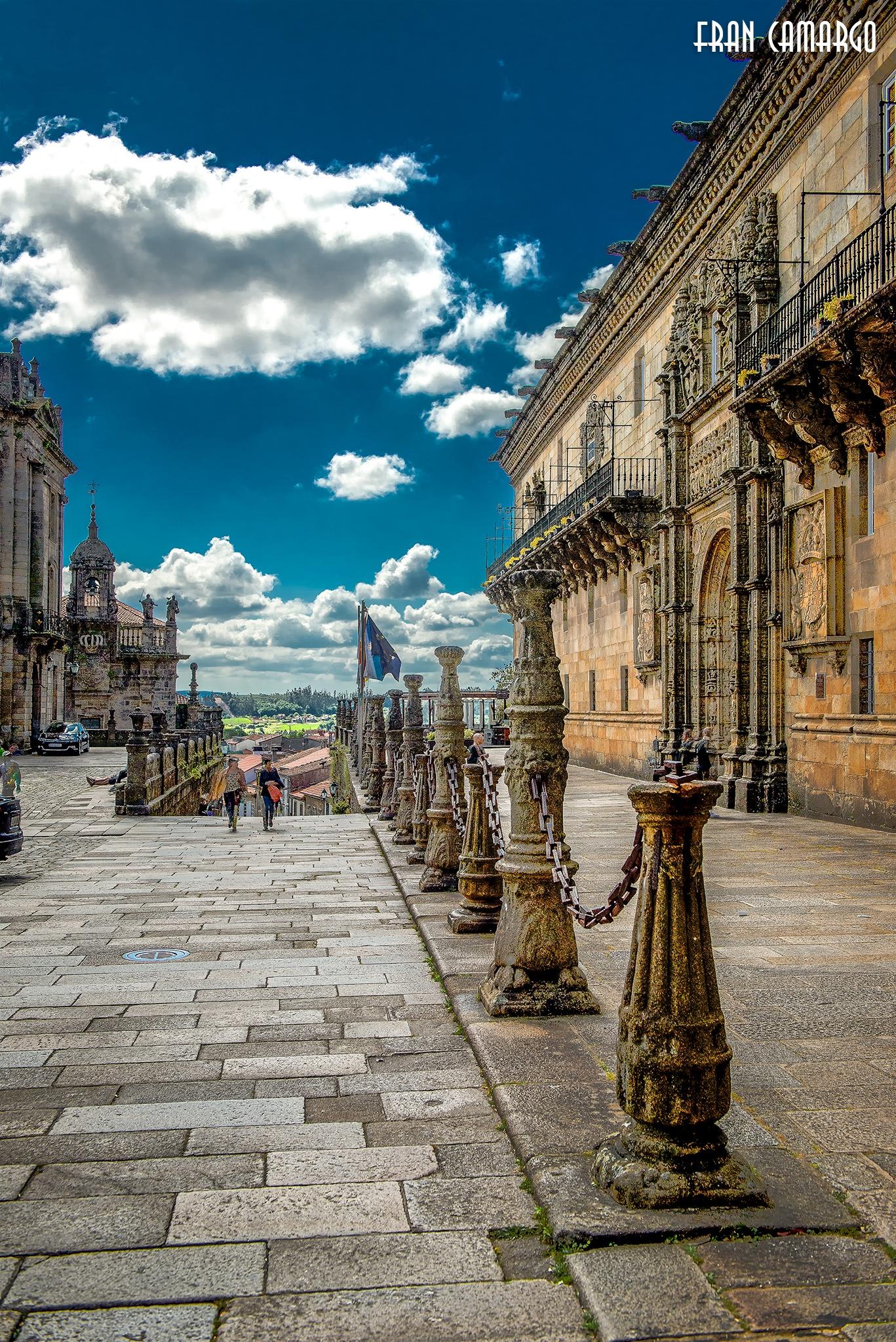 Santiago de Compostela by Fran Camargo