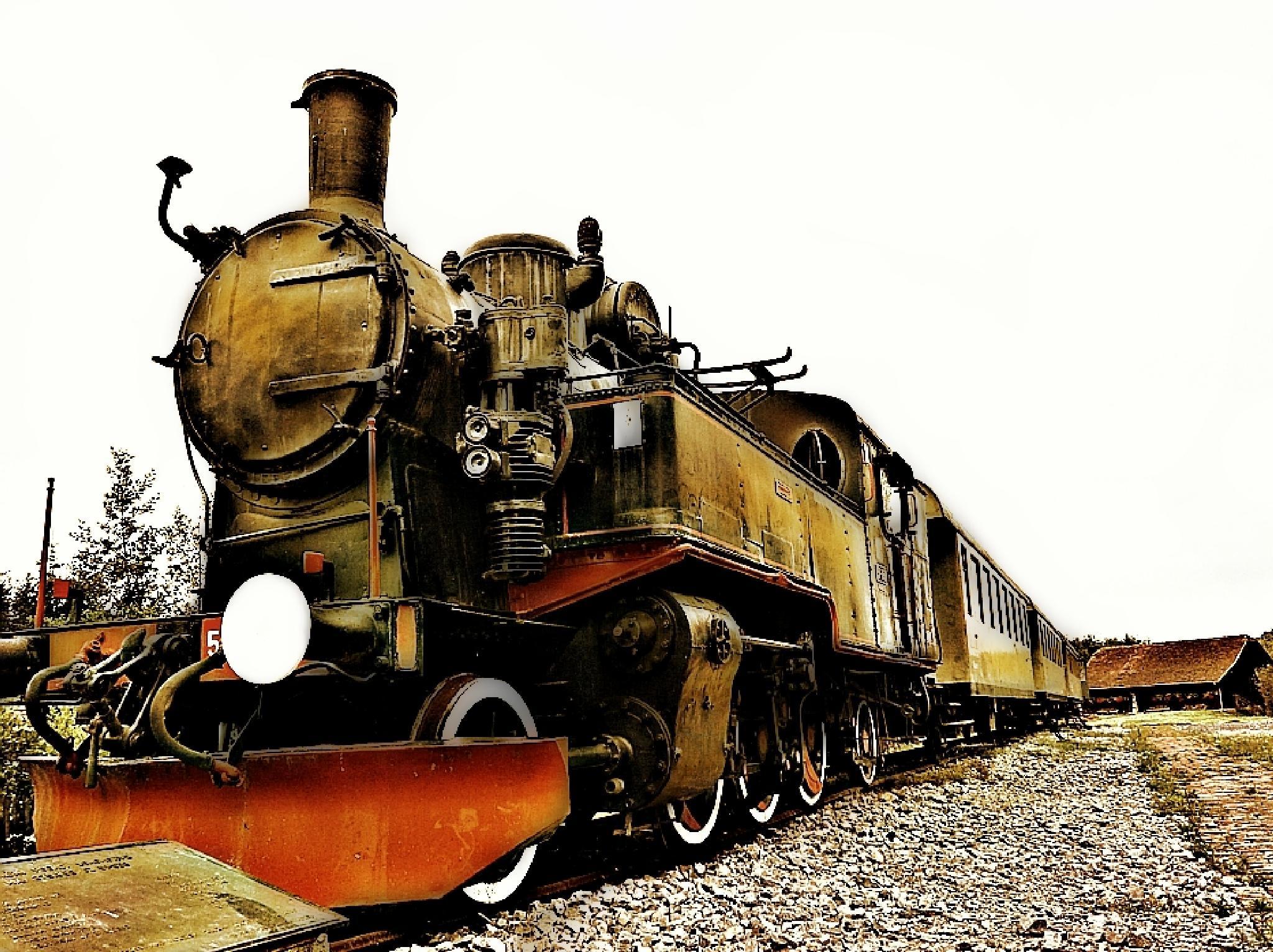 Train full of memories by ksenija.glavak