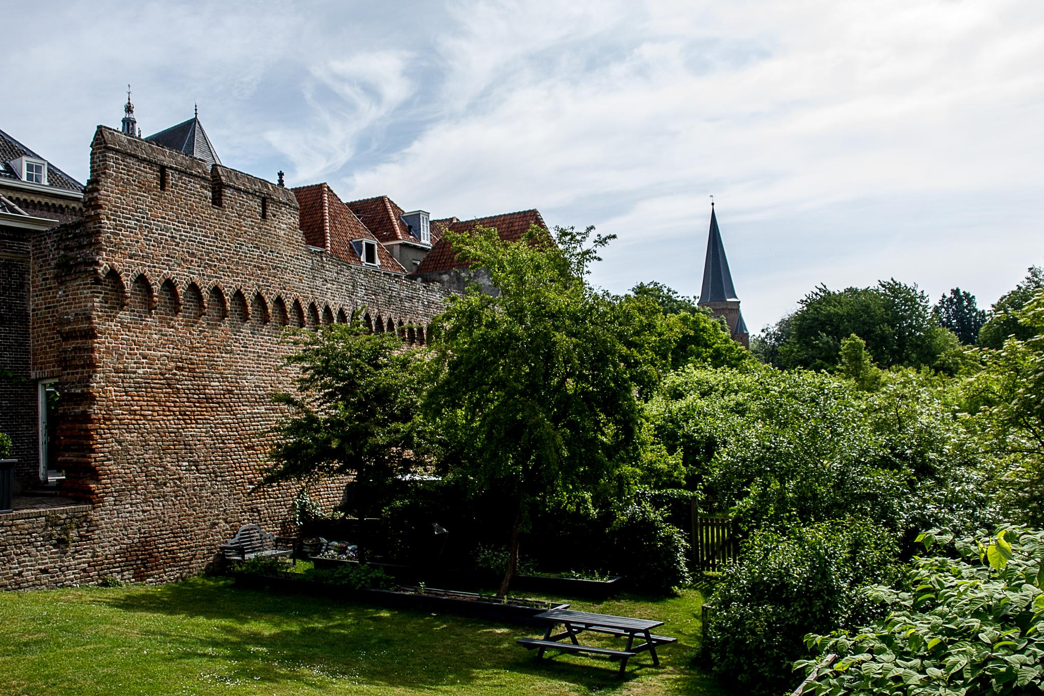 Old City Walls by Cor.G.  Amature Photographer