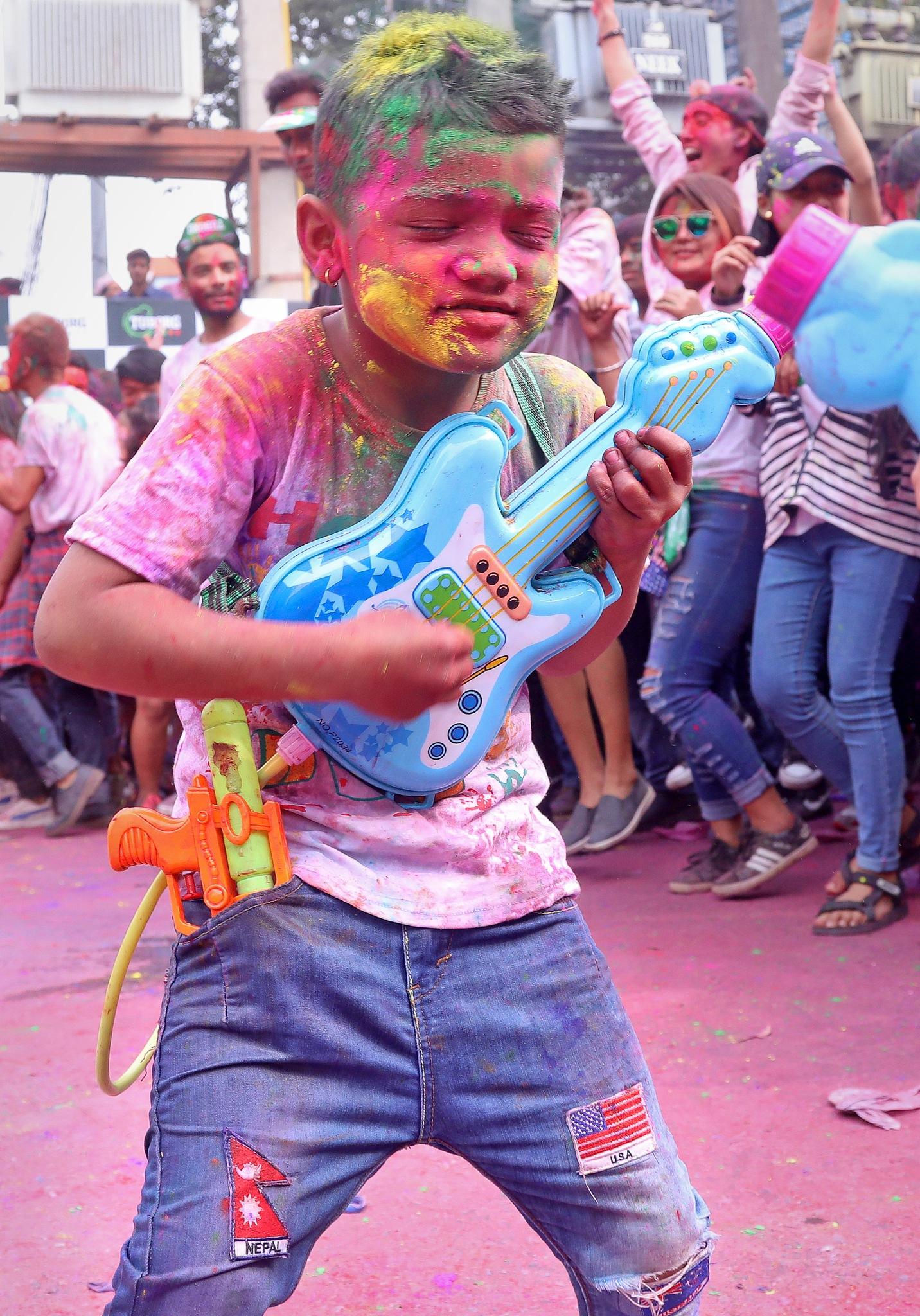 Holi Festival by umesh pun